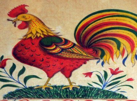 Kid's Winter Folk Arts Workshops: Folk Art Rooster