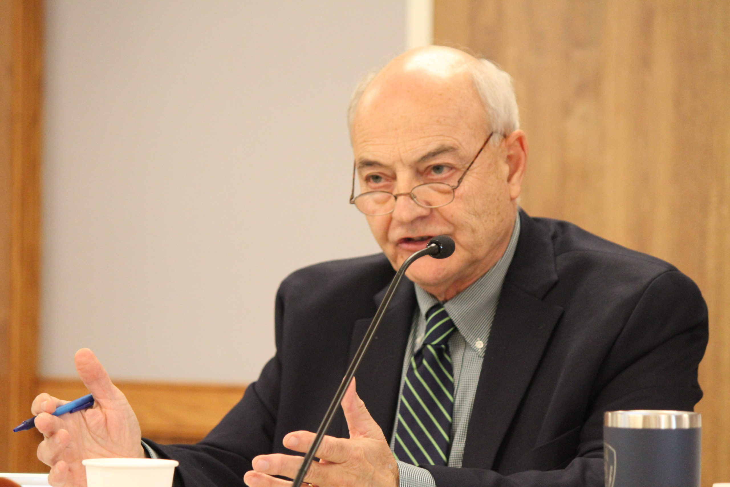 East Hampton Village Trustee Richard Lawler is currently the deputy mayor.