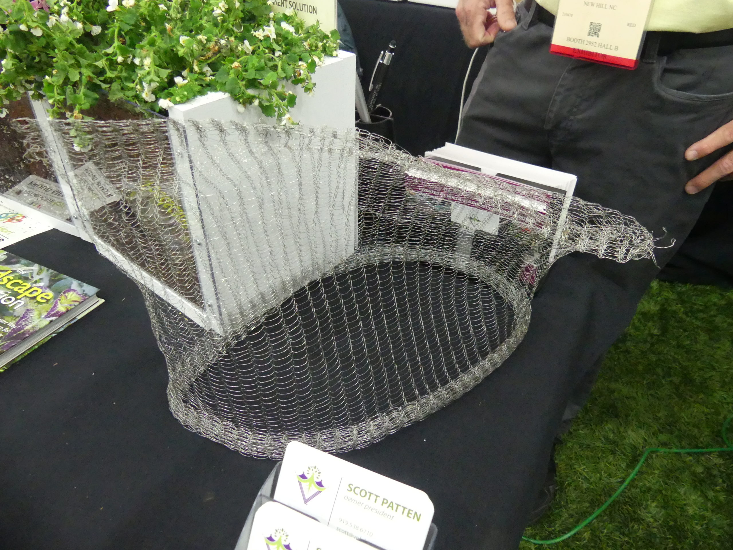 Vole King is a stainless steel mesh product that can protect your roots and bulbs from marauding voles and squirrels. It's available on rolls or as bags in several sizes.