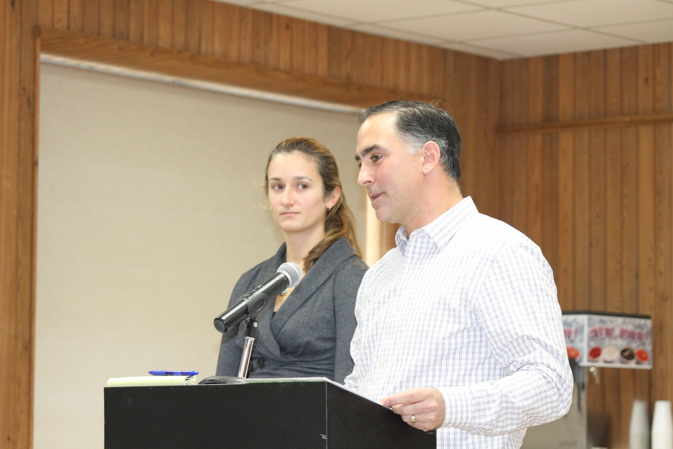 Chris Clapp and Melissa Winslow serve on East Hampton Town's Water Quality Technical Advisory Committee.