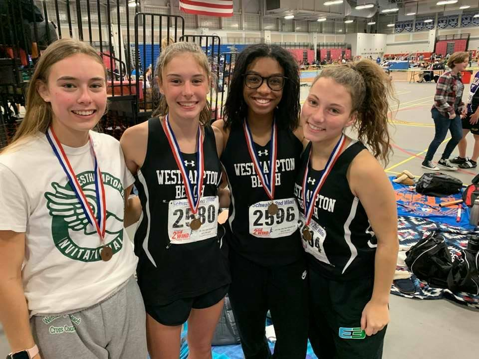 From left to right, Sydnie Mason, Sara Dunathan, Leila Reaves and Madison Mosher.