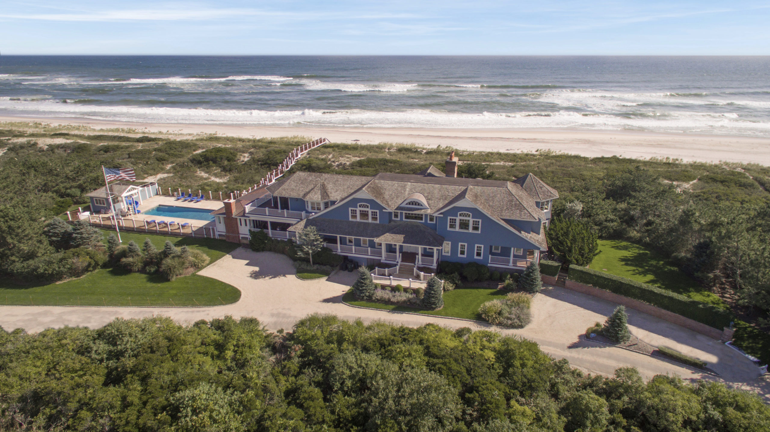 370 Fowler Street, Water Mill, the No. 7 Hamptons home sale of 2019. COURTESY DOUGLAS ELLIMAN