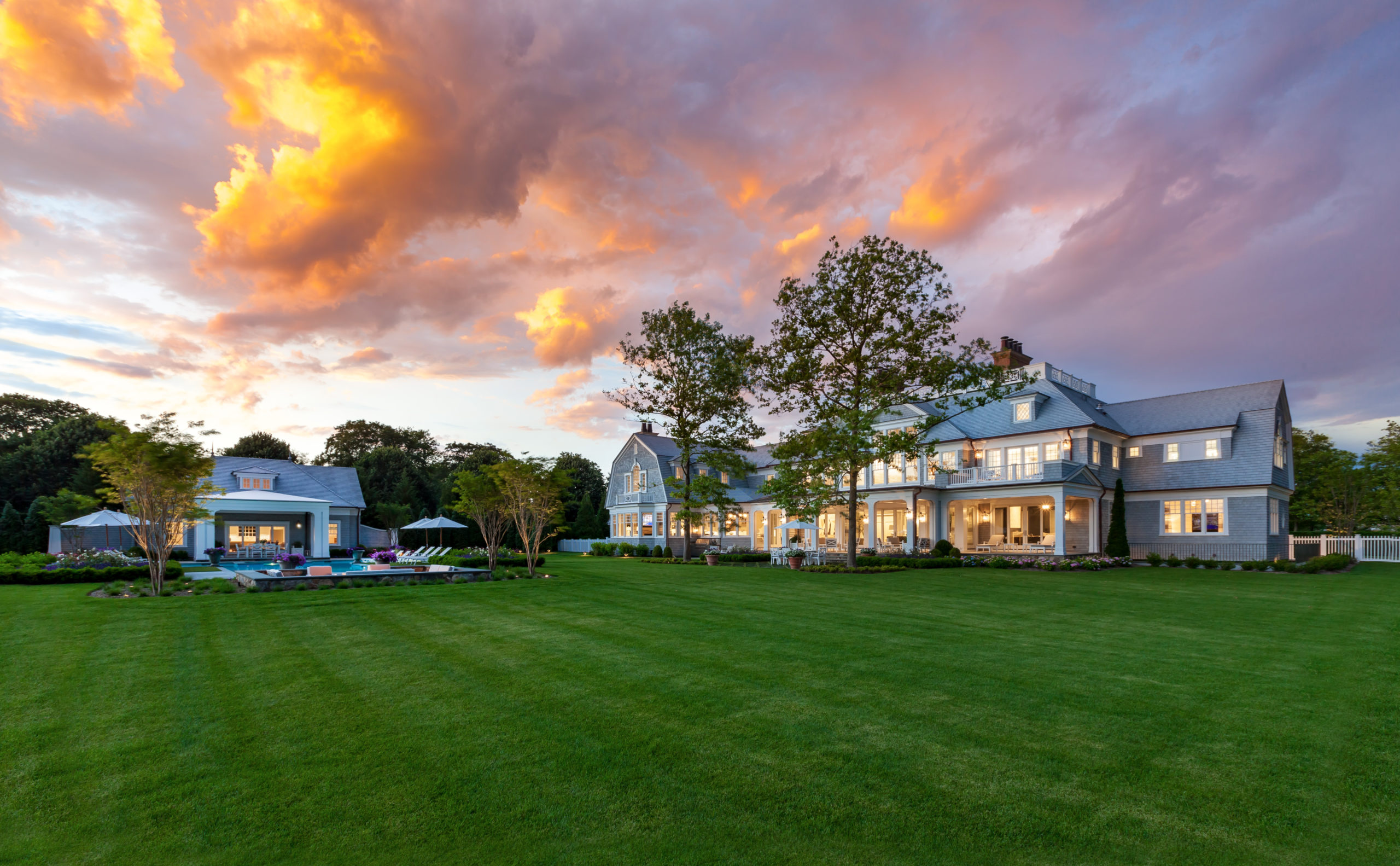 6 Olde Towne Lane, Southampton. the No. 5 Hamptons home sale of 2019.  KIM SARGENT/COURTESY THE CORCORAN GROUP
