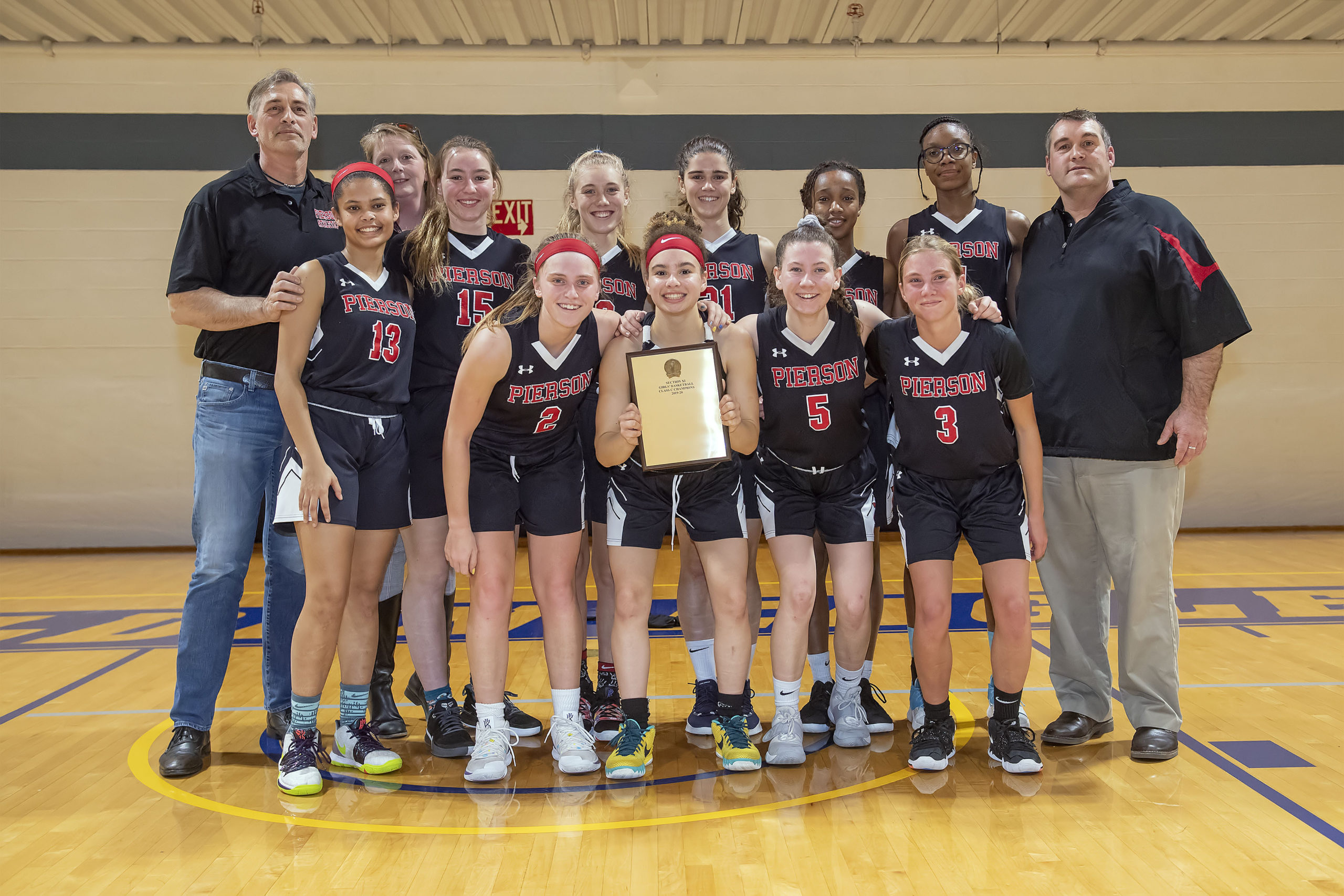 The Lady Whalers won the B/C/D Qualifier, 47-32, over Port Jeff on Tuesday night and will face Westhampton Beach in the Small Schools Championship this Saturday.