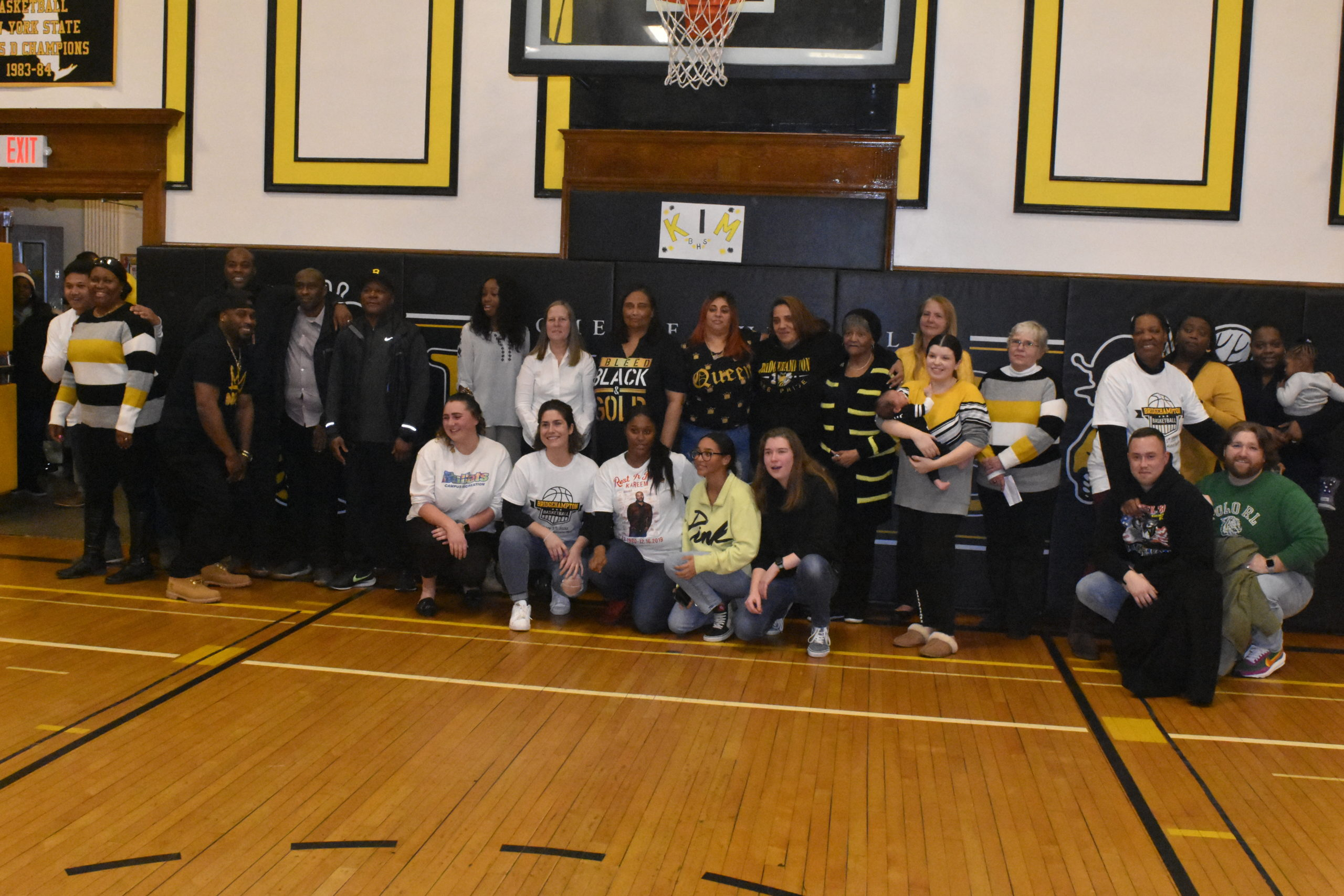 Many Bridgehampton alumni showed up to help close out The Hive on February 5.