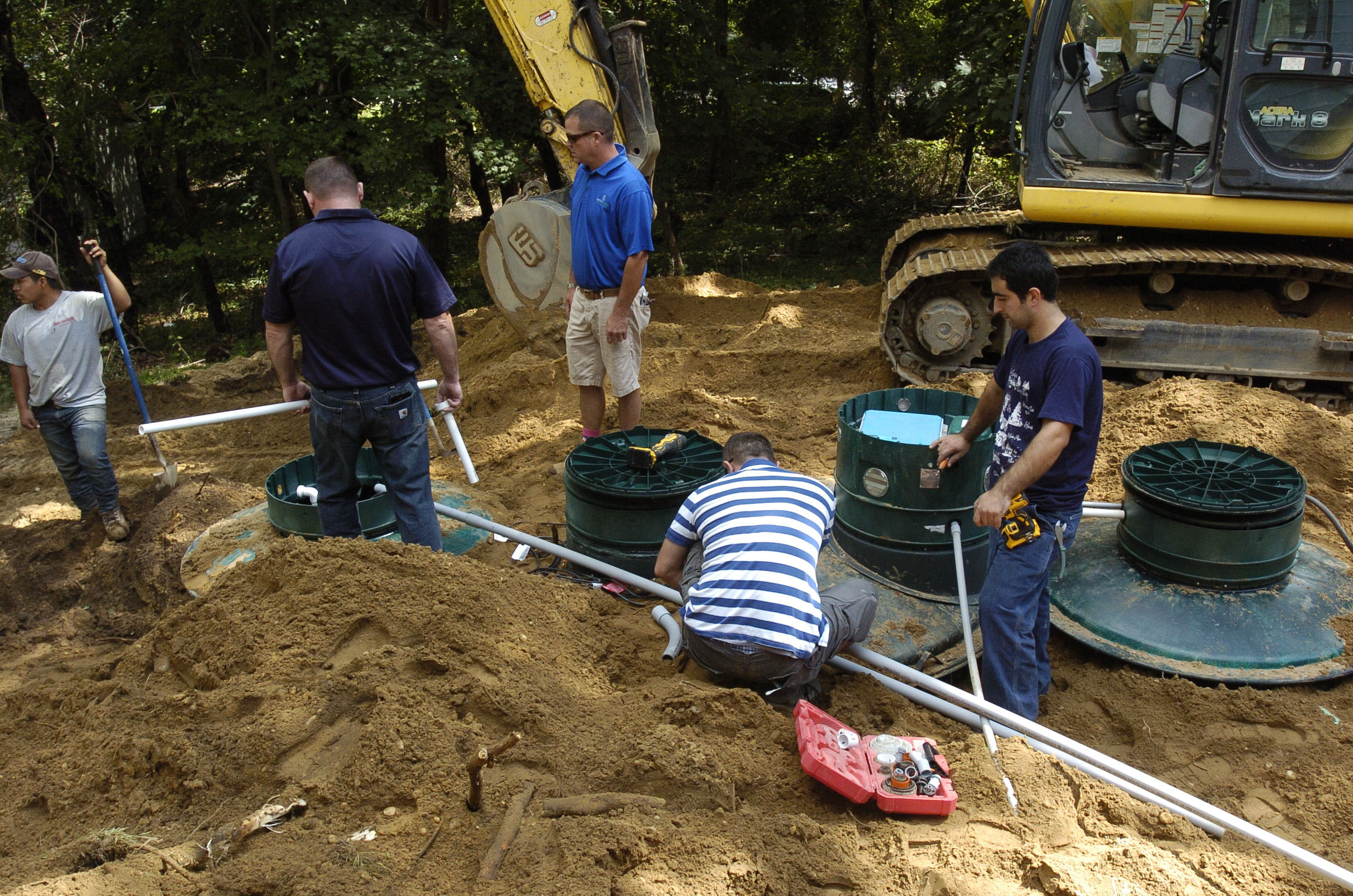 The Internal Revenue Service has stated that Suffolk County residents who have received grants for septic upgrades should pay tax on the funds. PRESS FILE