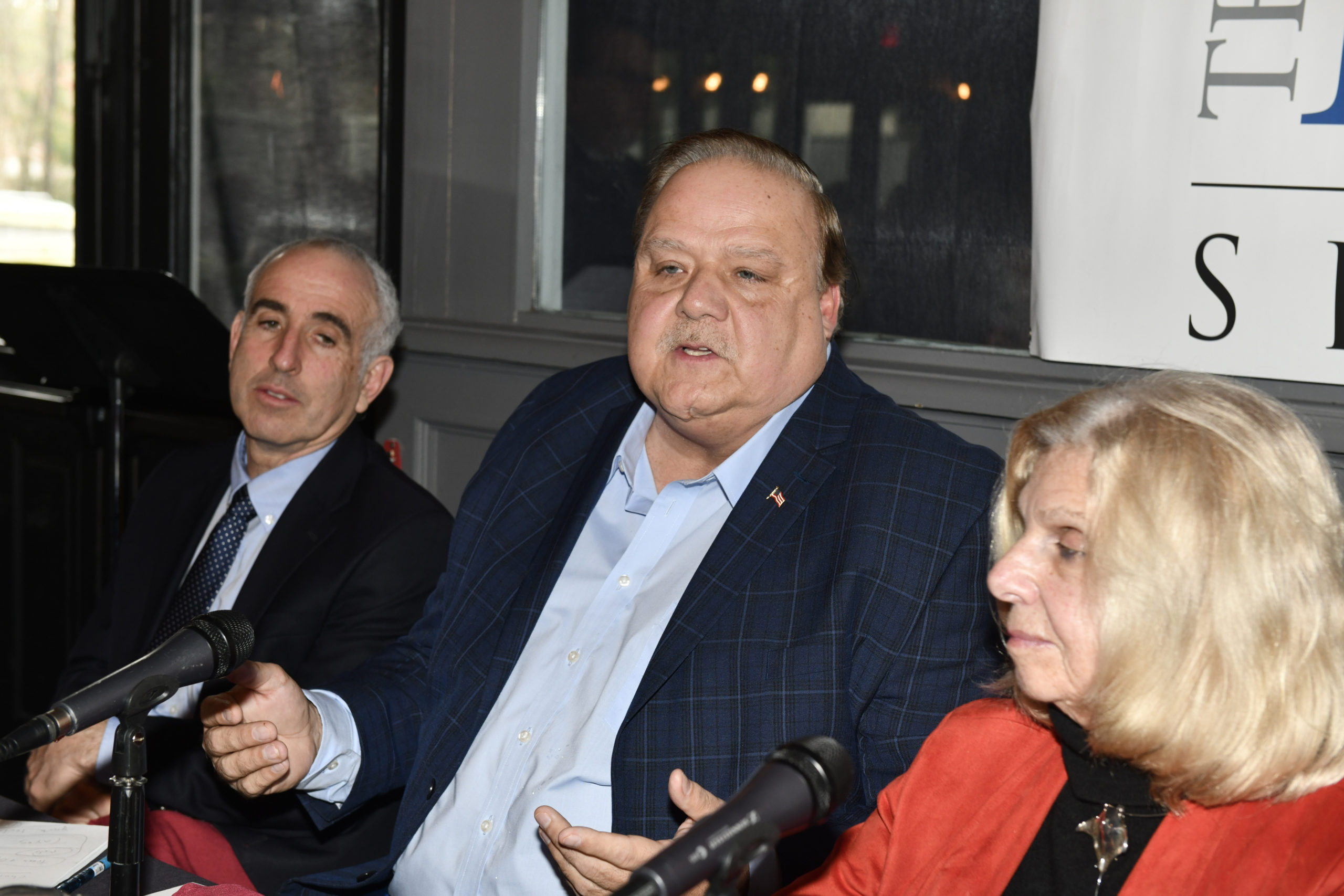 Southampton Town Board member Rick Martel.  DANA SHAW