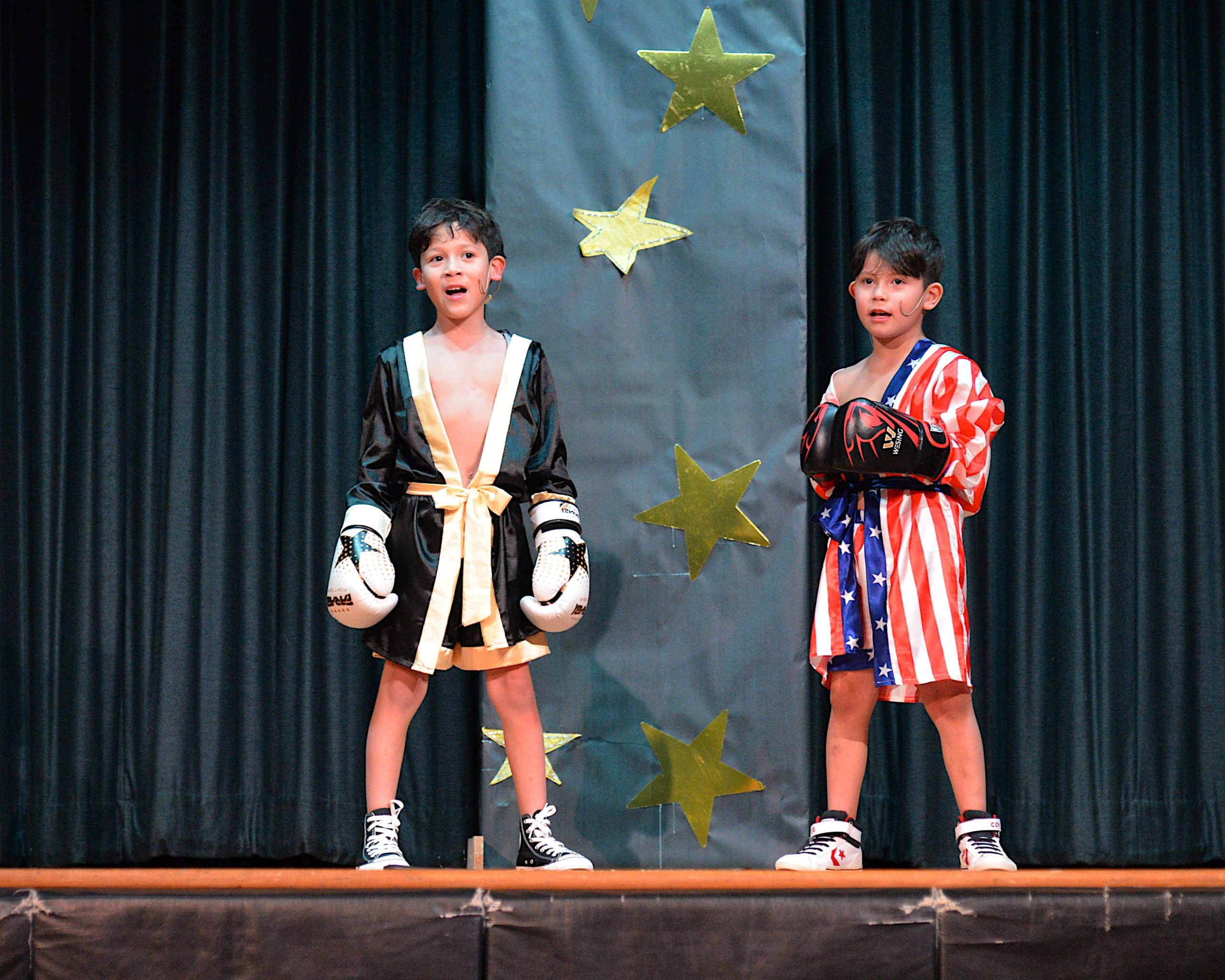 The Montauk School students were invited to participate in a Variety Show on Friday evening. Matthew and Nathan Altagracia were in the show. KYRIL BROMLEY
