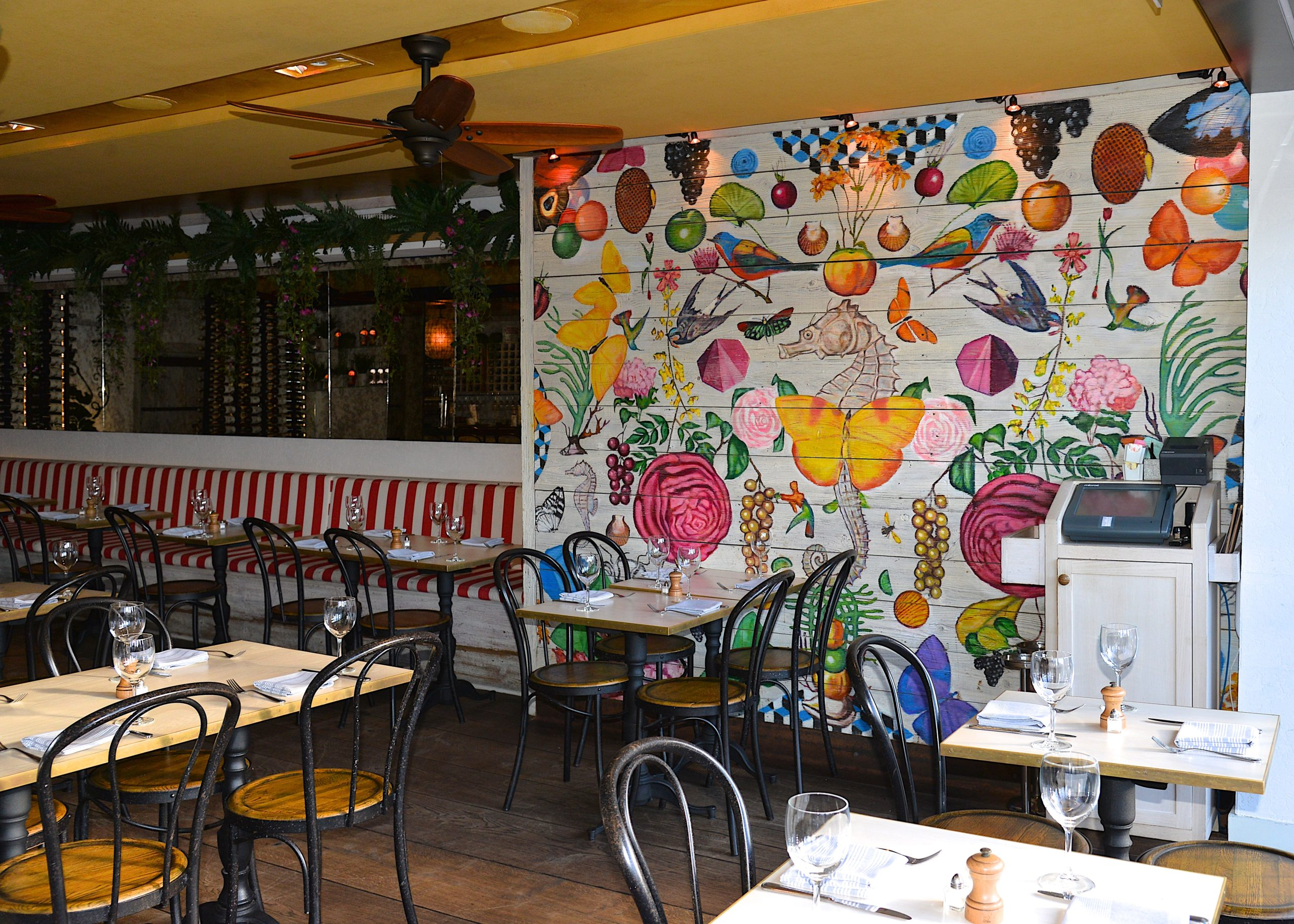 The lease for the restaurant space that houses Wölffer Kitchen Sag Harbor has been put up for sale.