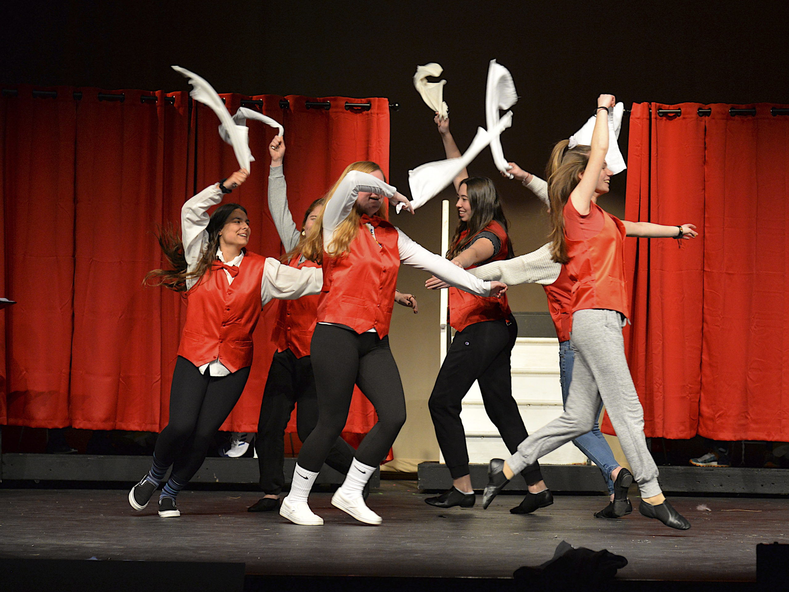 Rehearsals are underway for the East Hampton high School production of