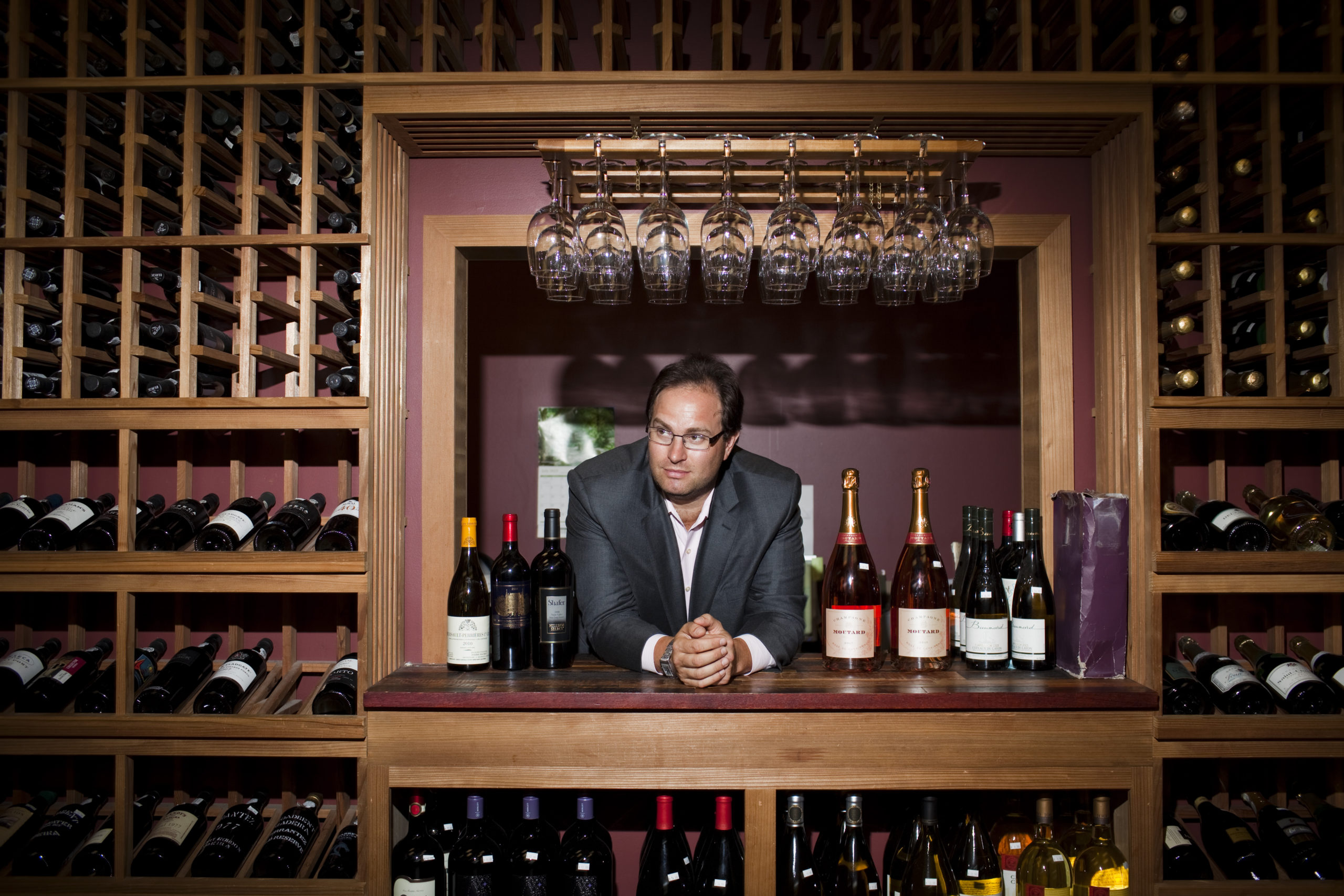 A selection of French wines the could get hit with tariffs. COURTESY DANIEL POSNER