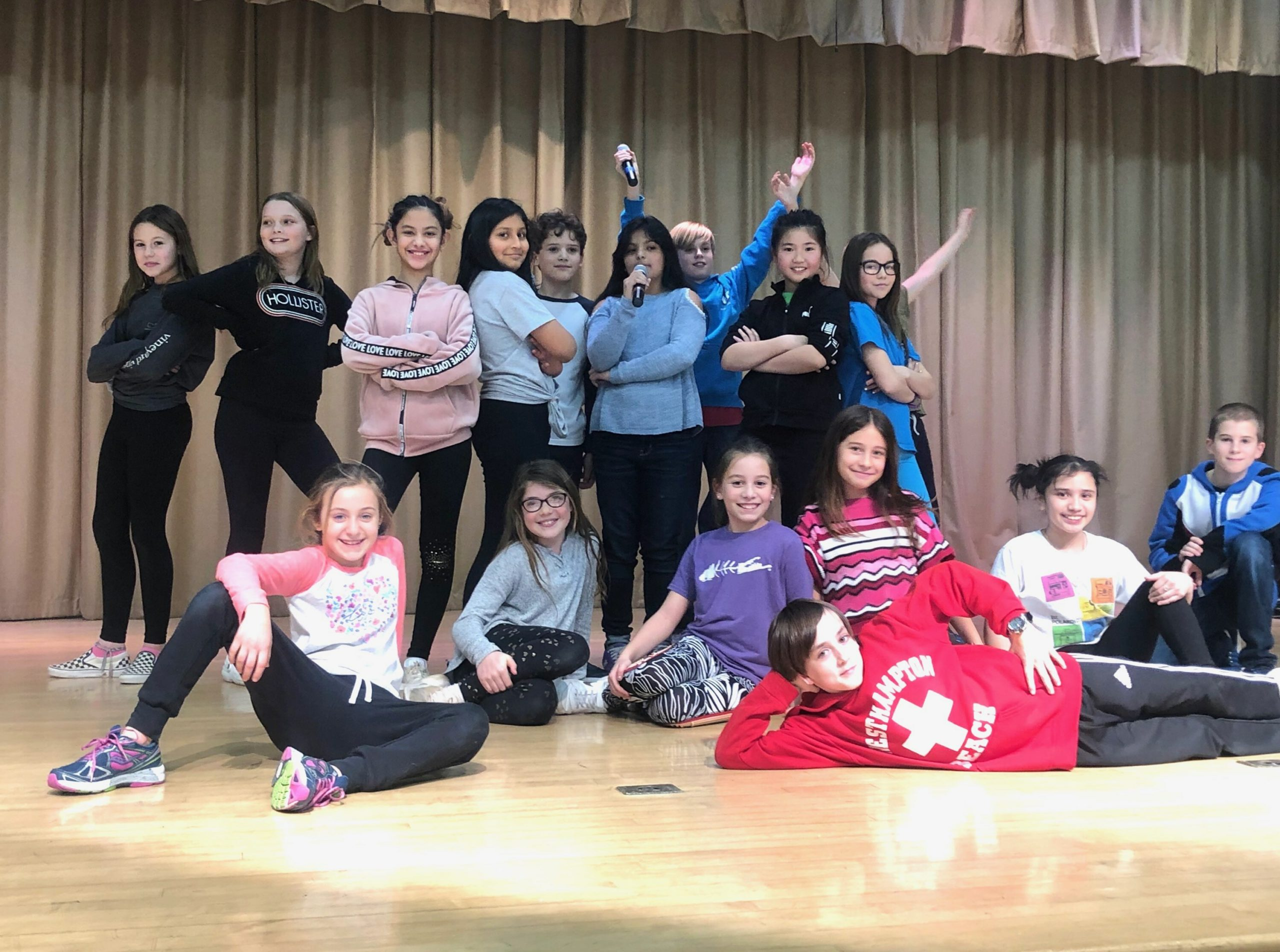 The East Quogue Elementary School Drama Club will open its production of