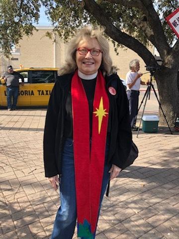 Rev. Karen Ann Campbell in Brownsville, Texas.