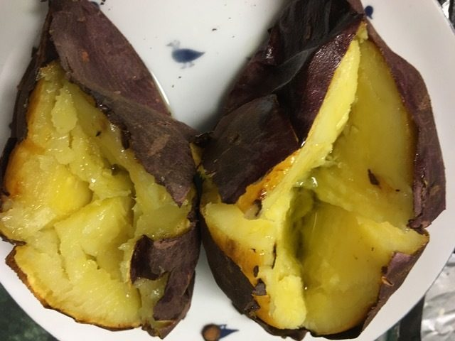 Red Skinned Baked Sweet Potato