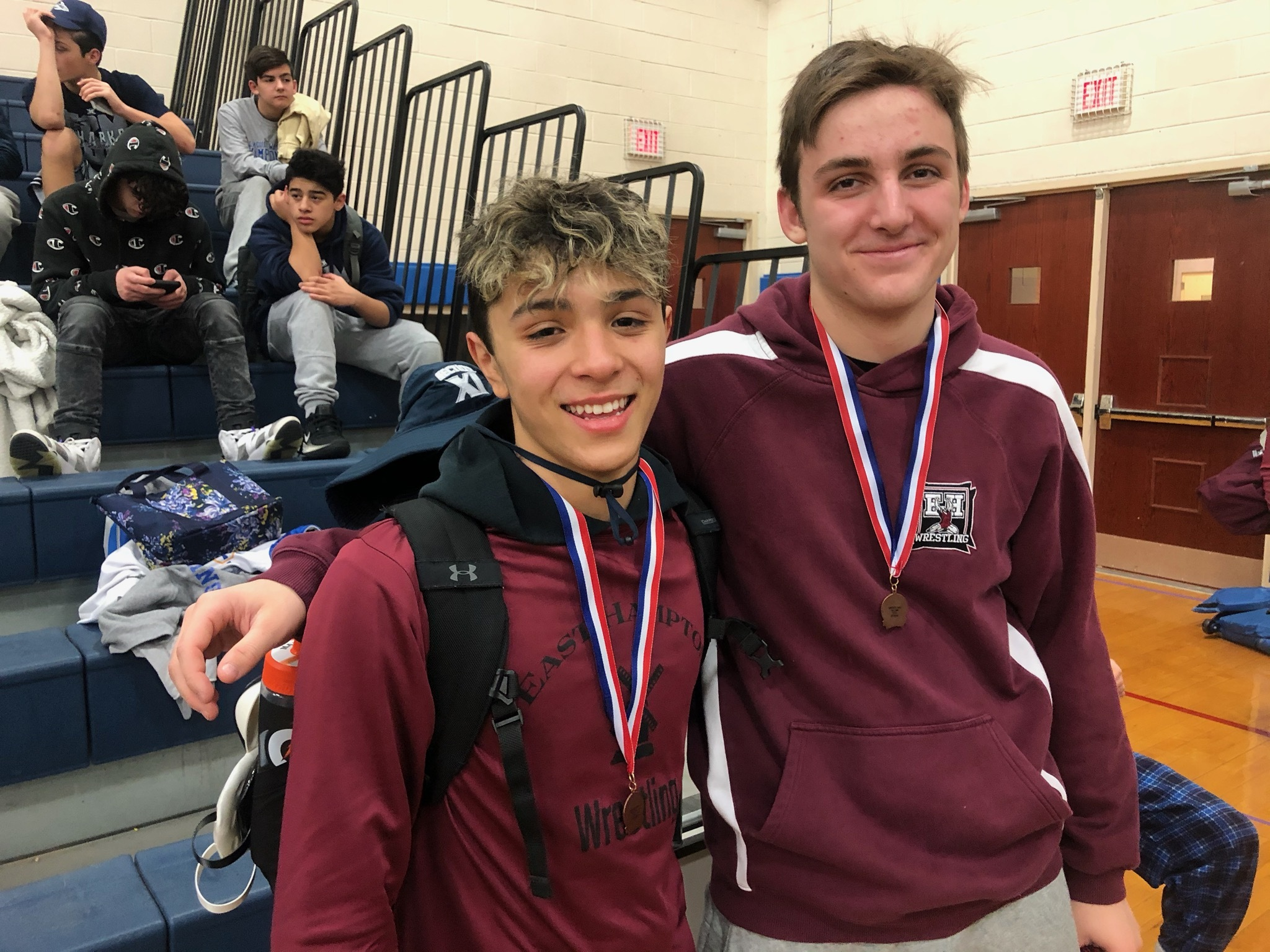 Santi Maya, left, Nick Lombardo are heading to counties this weekend.