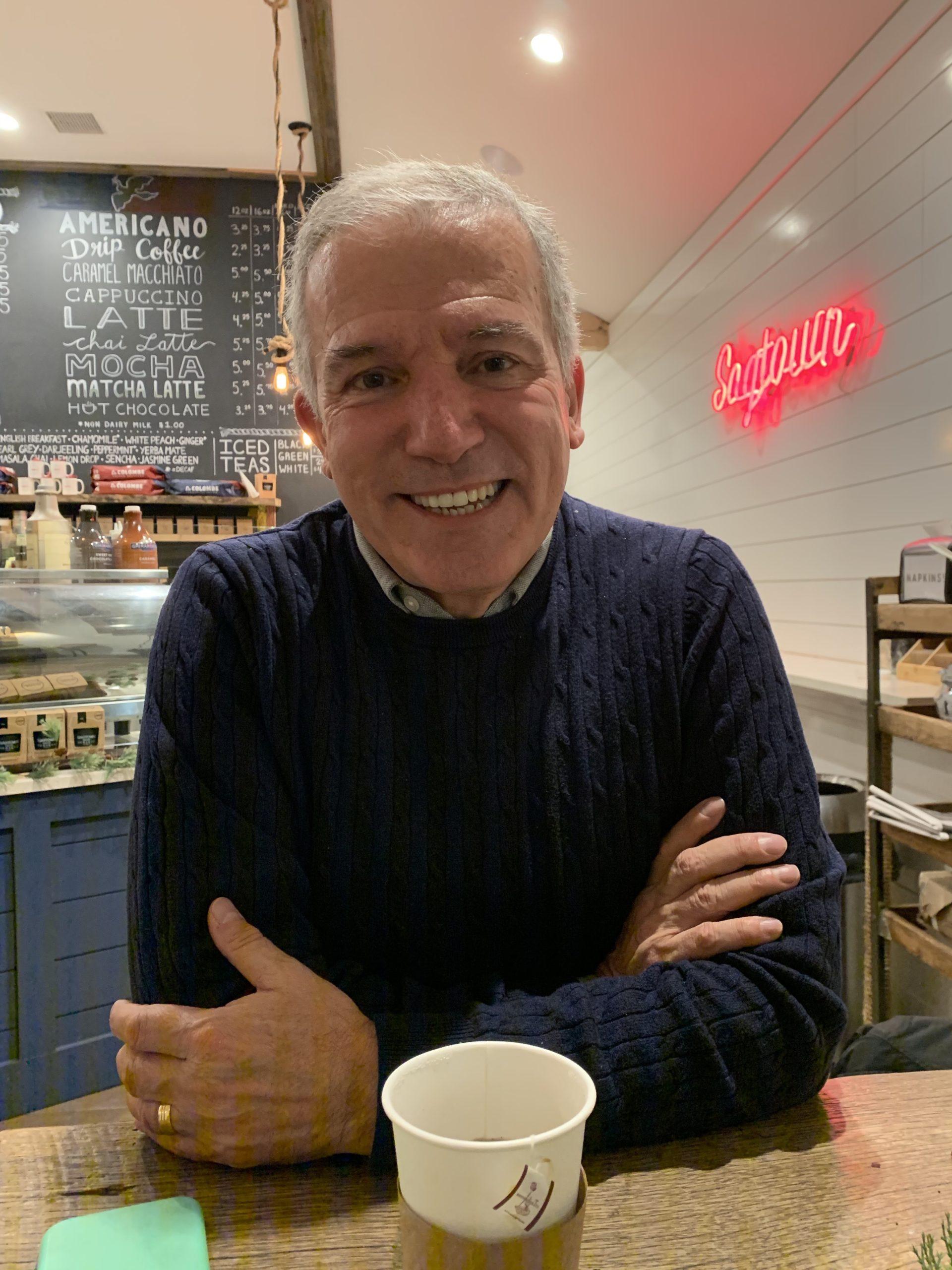 Writer and memoir teacher Andrew Visconti.
