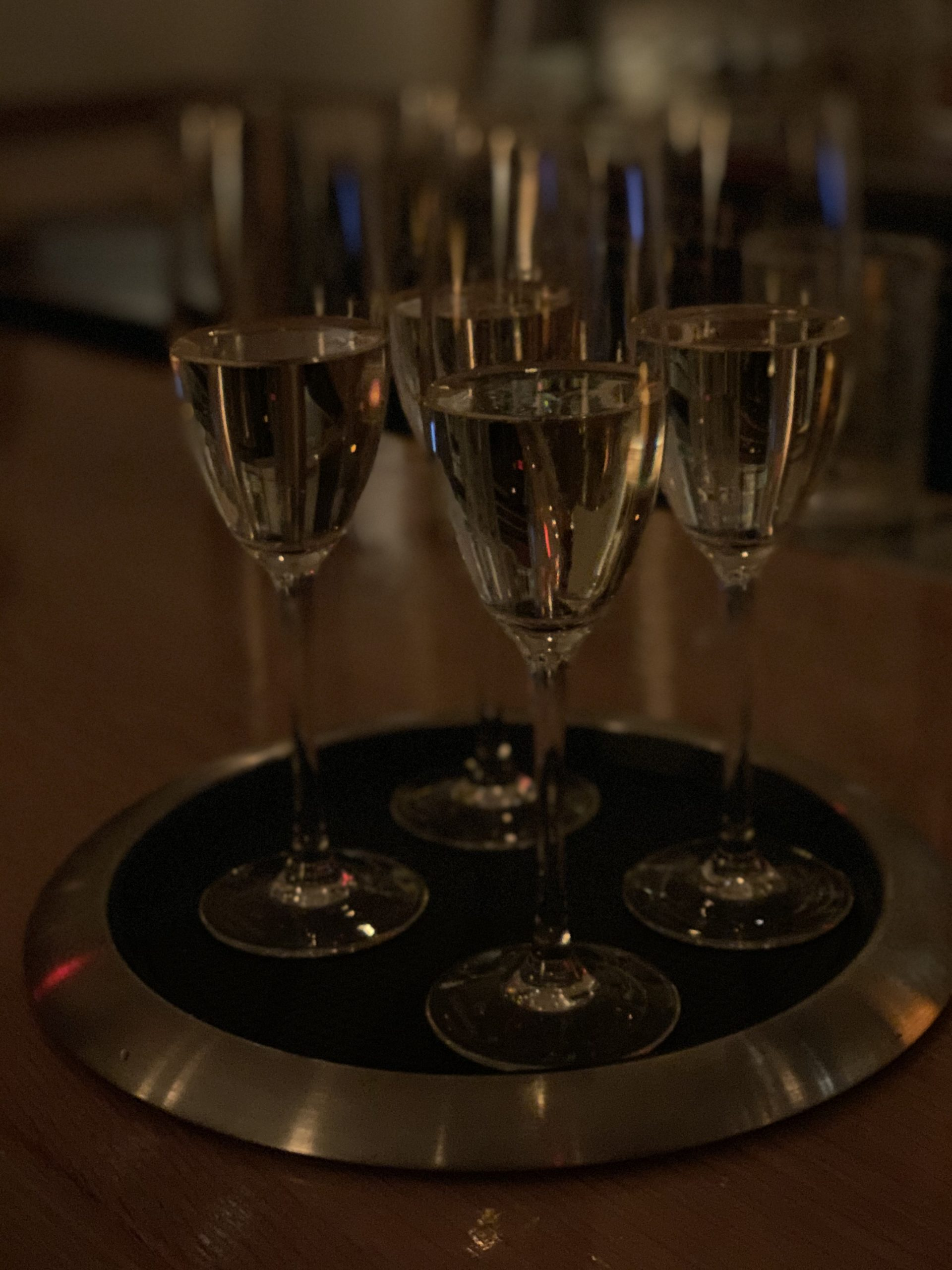 Prosecco was flowing at the Game Bird dinner at Nick & Toni's last Thursday.
