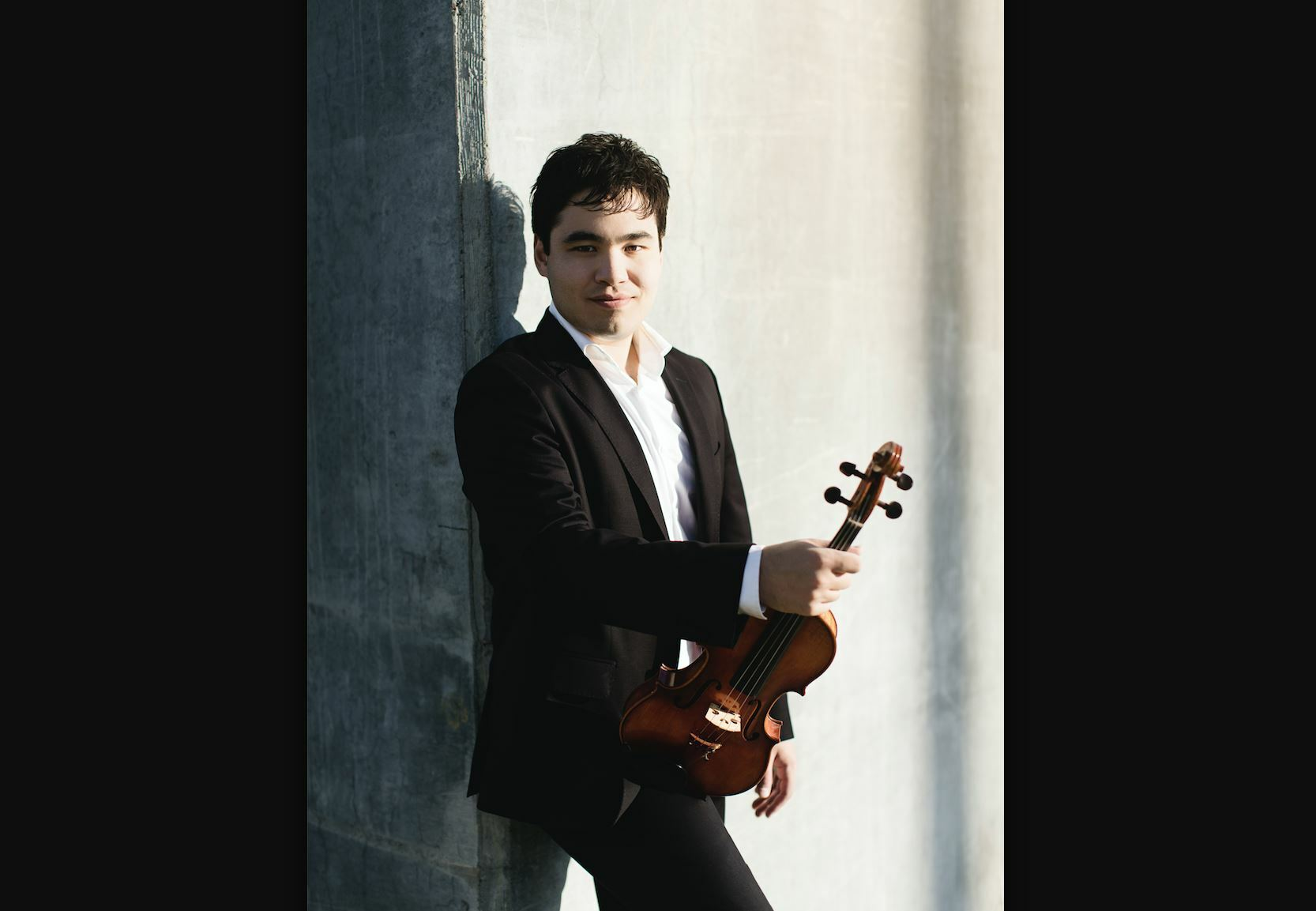 Violinist Eric Silberger.