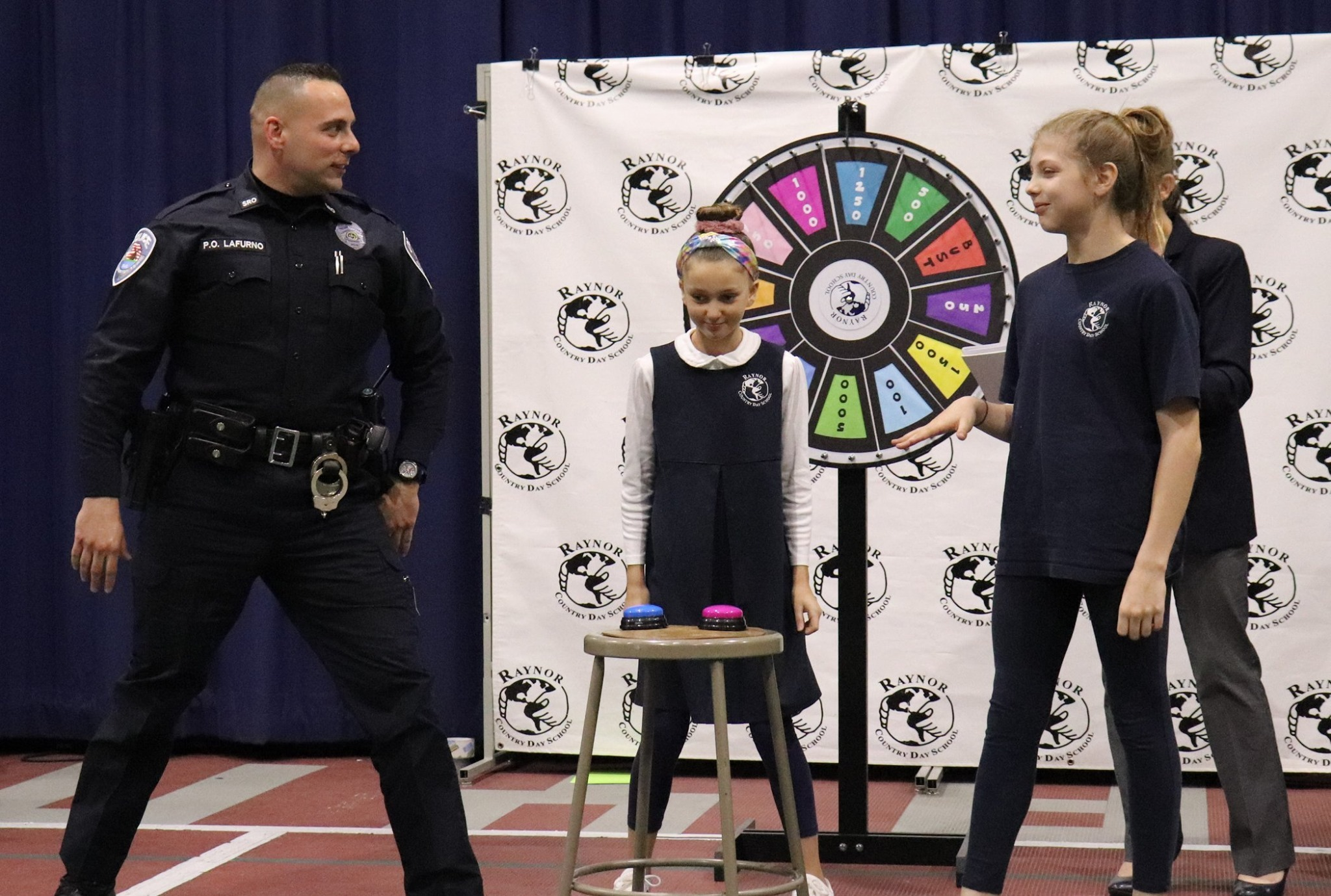 On Thursday, February 13, Raynor Country Day School and the Southampton Town Police Department faced off in the school's first
