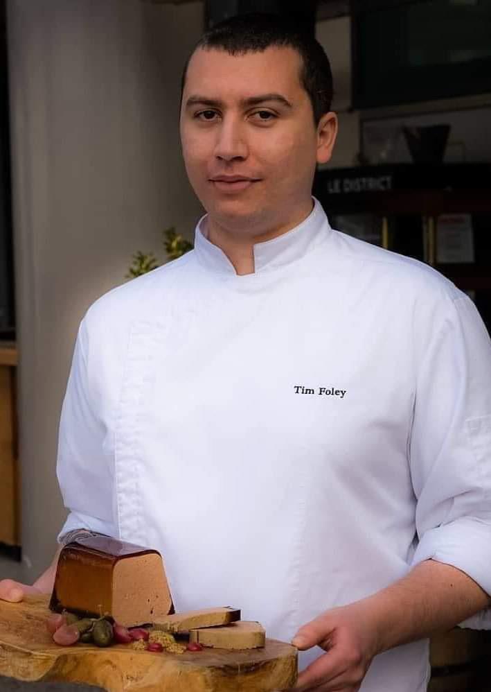 Almond's chef de cuisine Tim Foley.