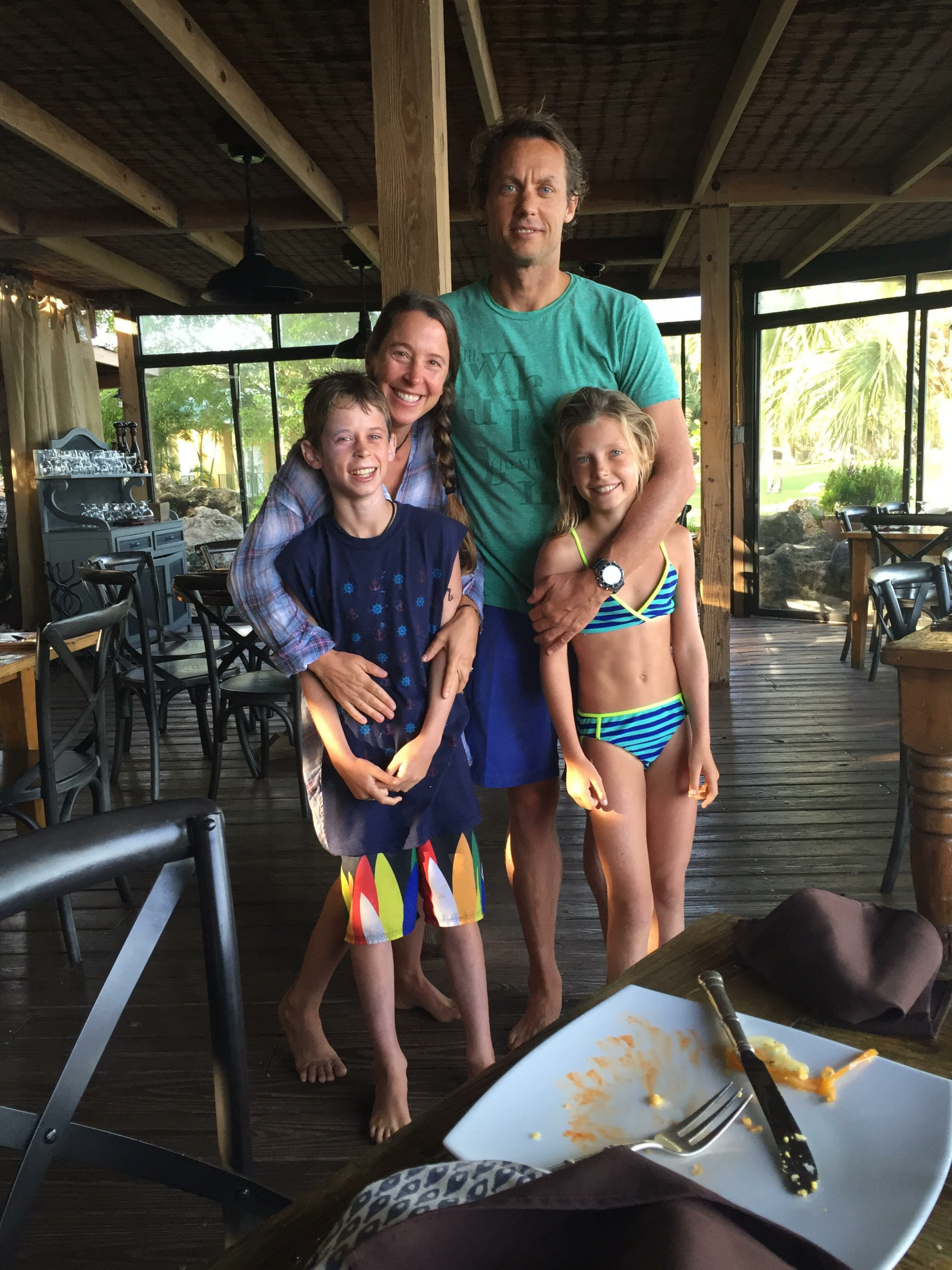 Chris Coleman and family. COURTESY COMPASS