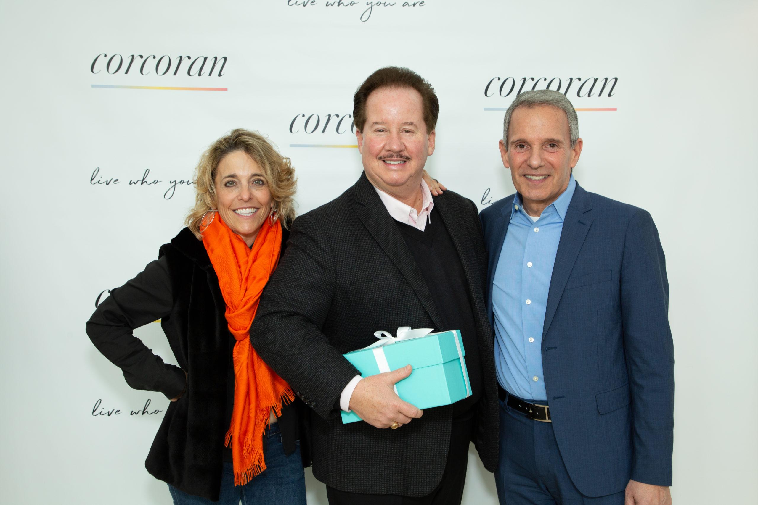 Pamela Liebman, Tim Davis and Ernie Cervi. COURTESY CORCORAN