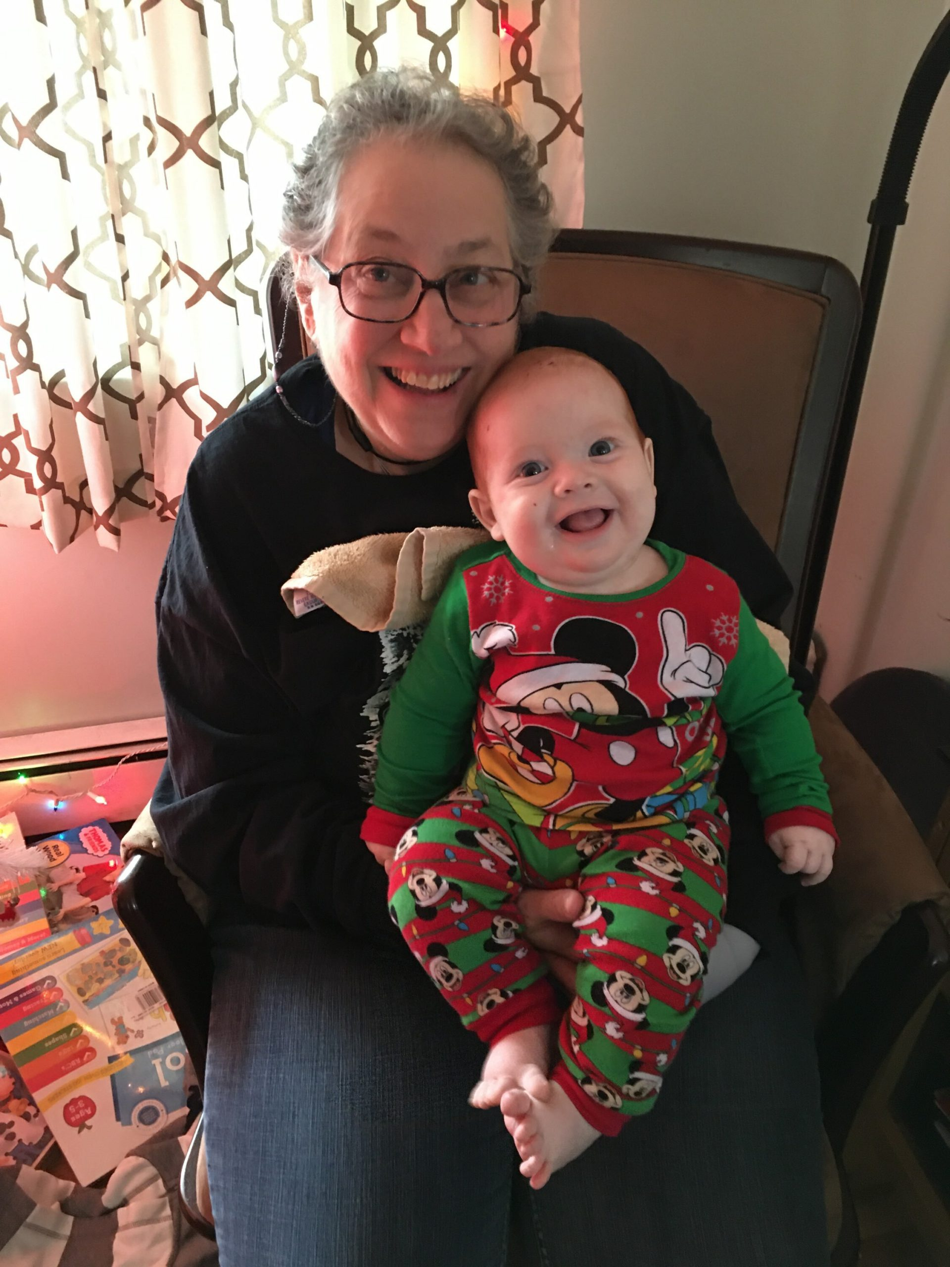 East Quogue local Toni Petersen, who found a bone marrow match in 2014, is now searching for a perfect match for her sick six-month-old grandson, Jase.