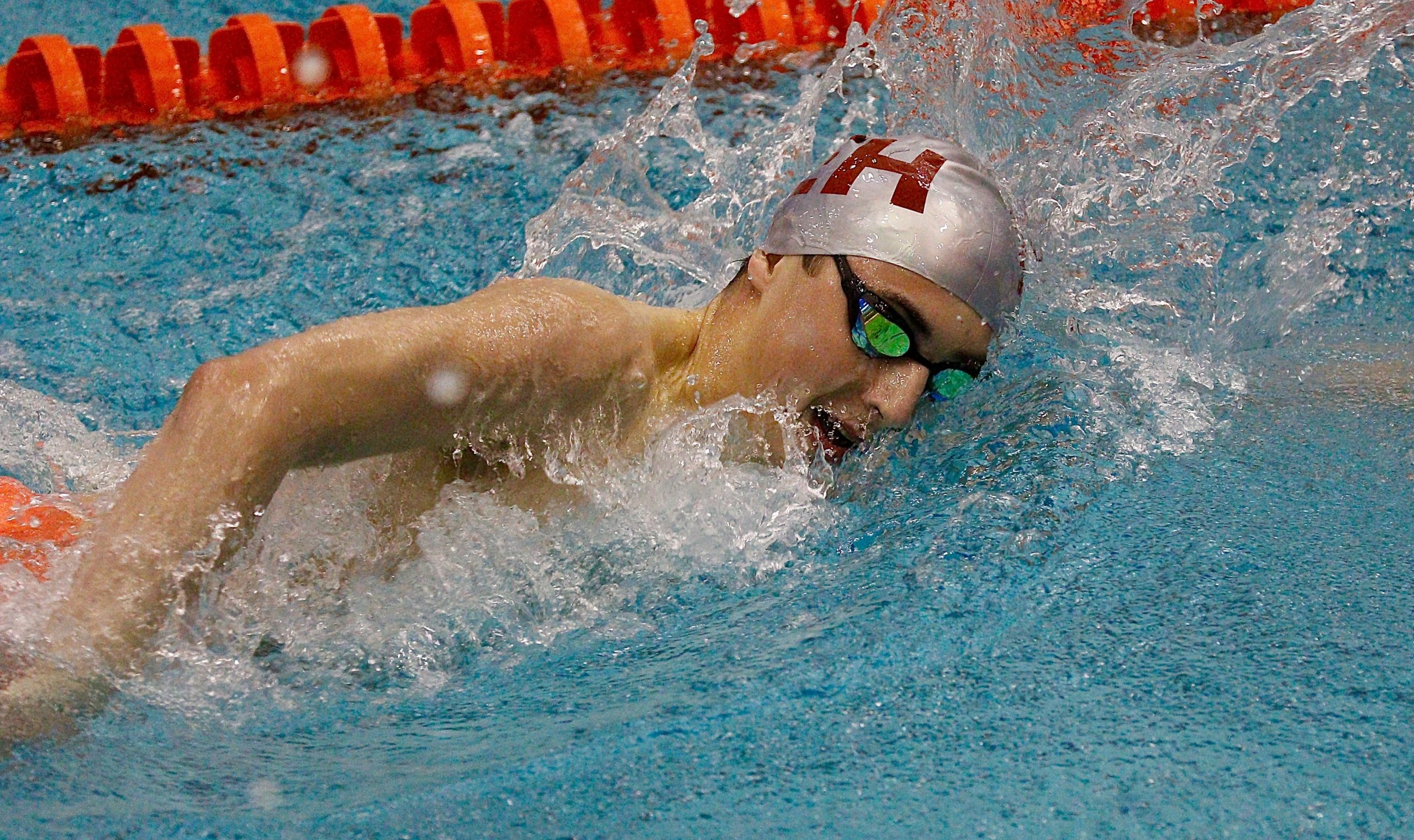 Ethan McCormac was arguably one of the best boy swimmers to have come through East Hampton.  FILE PHOTO