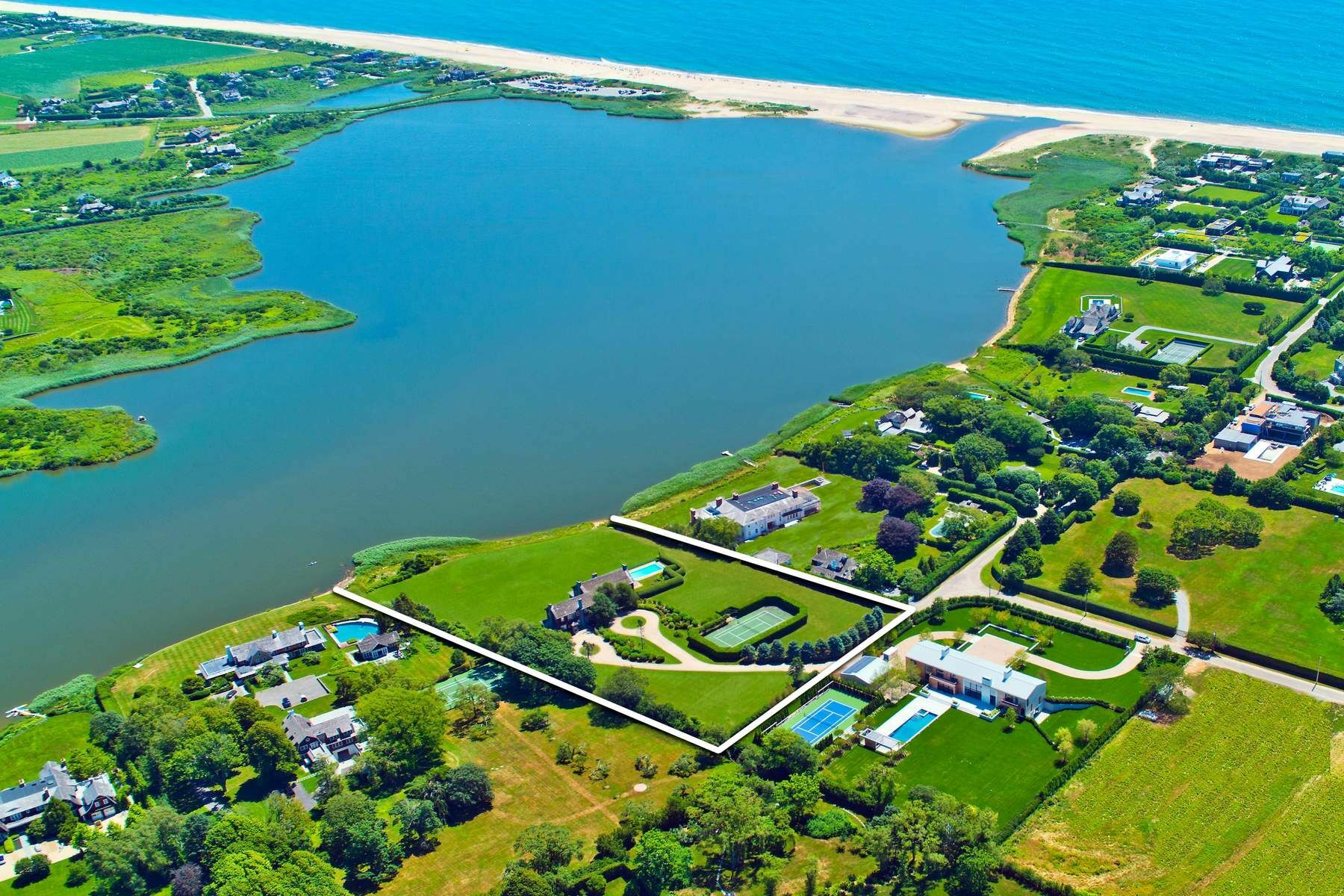 236 Quimby Lane, Bridgehampton, the No. 6 Hamptons home sale of 2019. COURTESY SOTHEBY'S INTERNATIONAL REALTY
