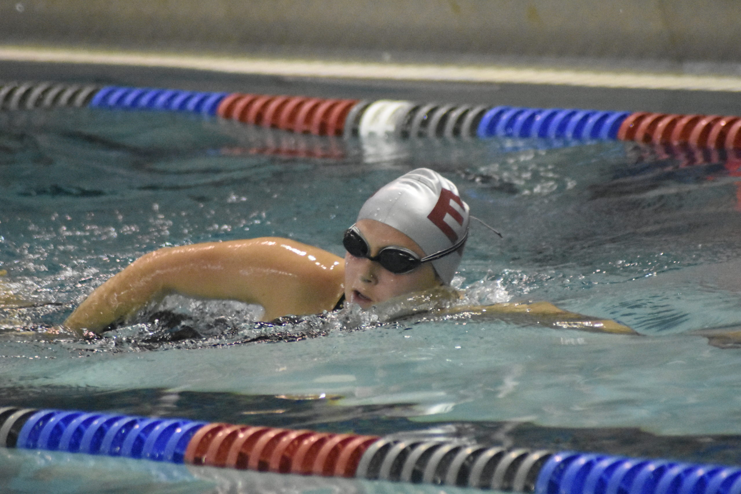East Hampton senior Sophia Swanson reached the state meet this past fall, both individually and as part of a relay team.