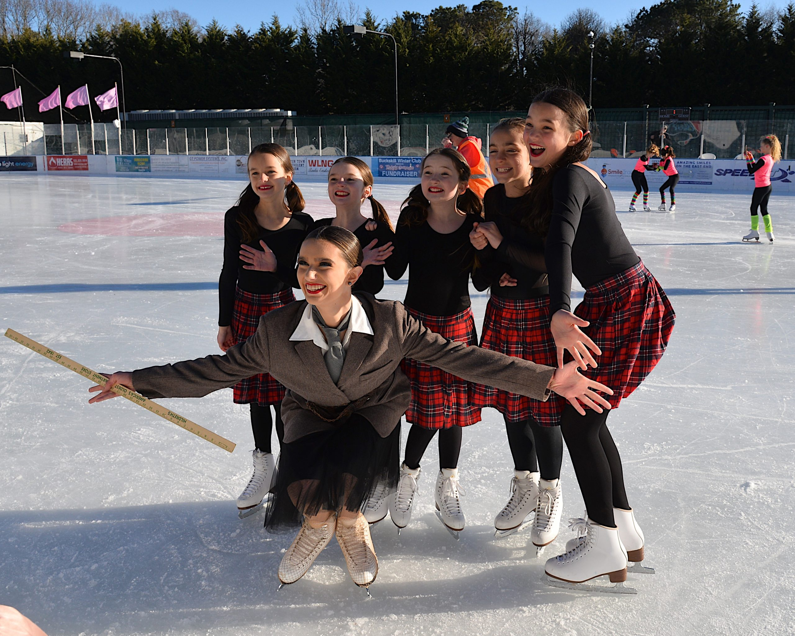 The ninth annual Katy's Courage skate-a-thon was held at the Buckskill Winter Club Sunday, raising funds for the education, support and pediatric cancer research. KYRIL BROMLEY
