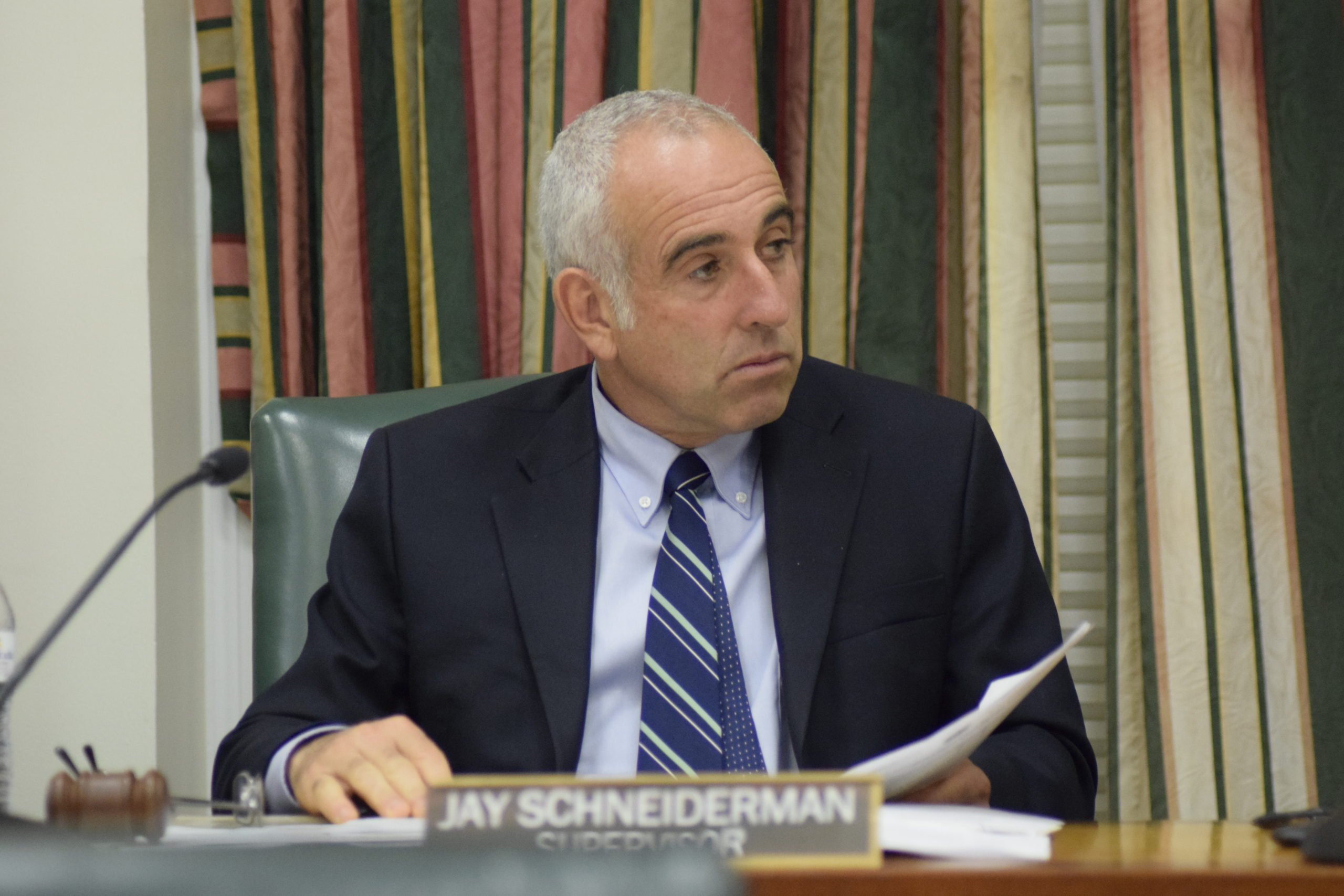 Southampton Town Supervisor Jay Schneiderman visualizes a united appeal across the East End to help the needy.