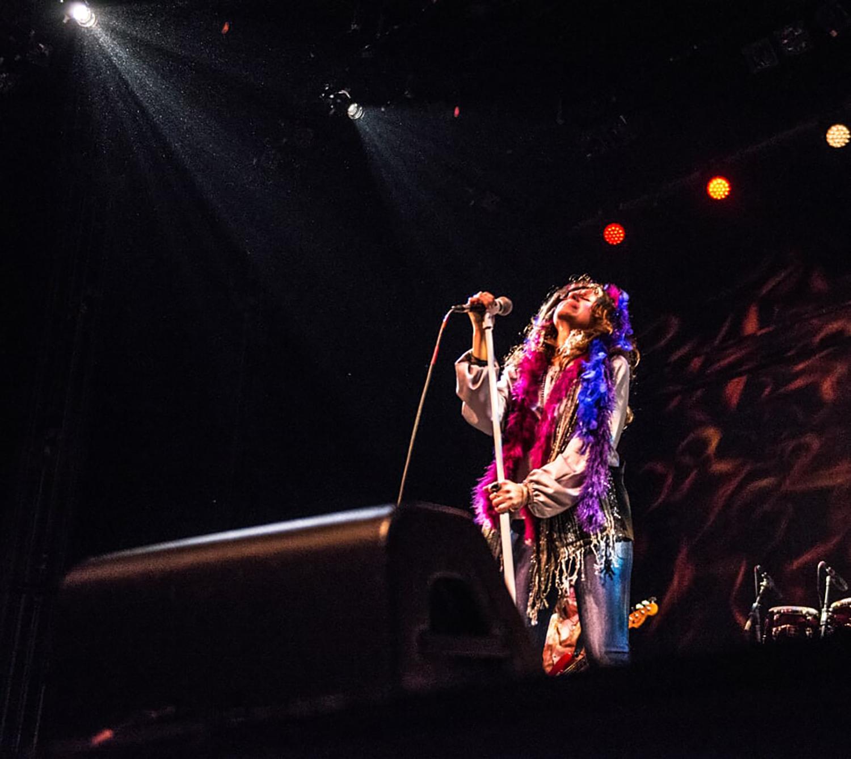 Amber Ferrari as Janis Joplin
