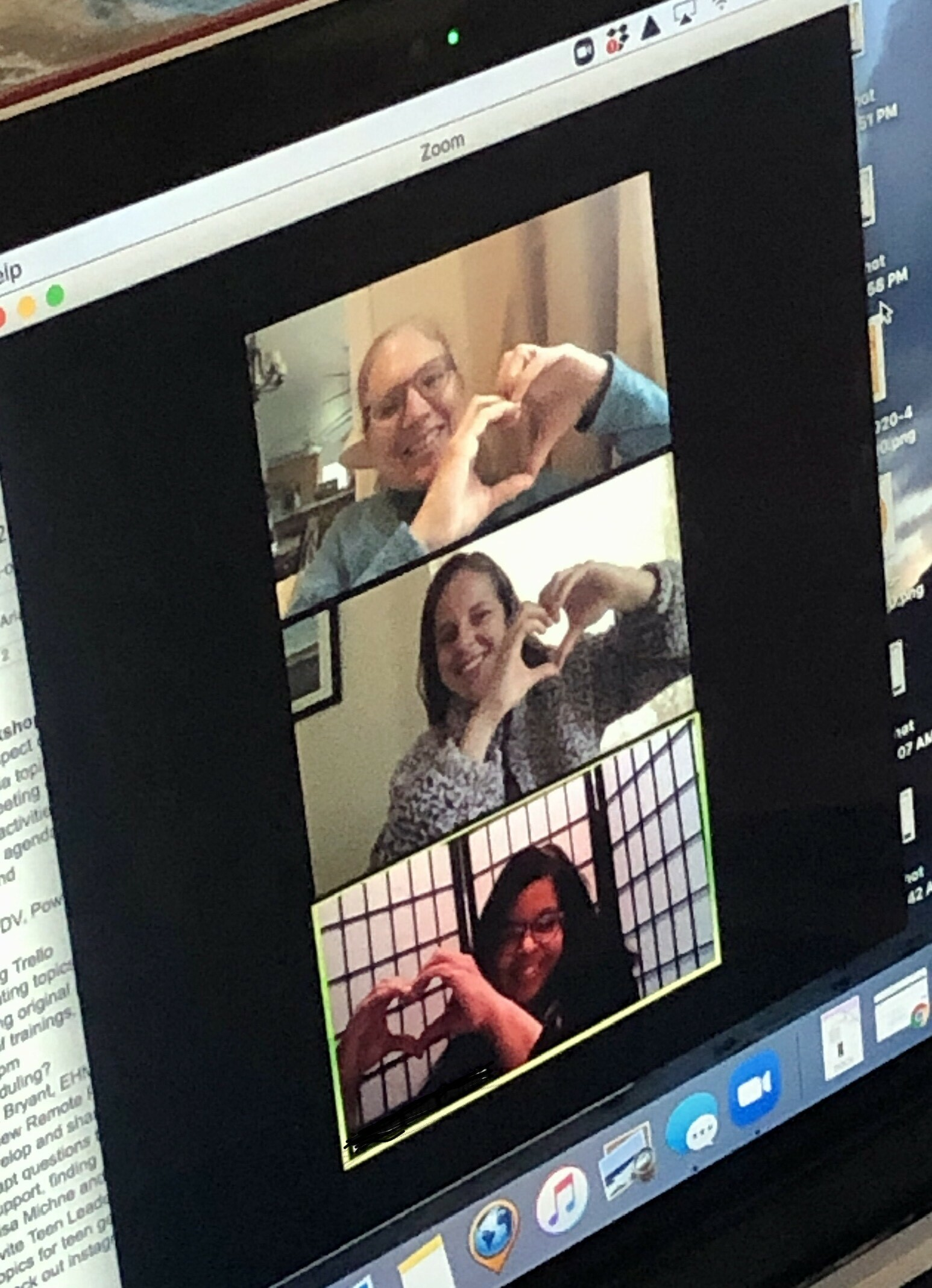 The Retreat's Prevention Education Team works remotely.