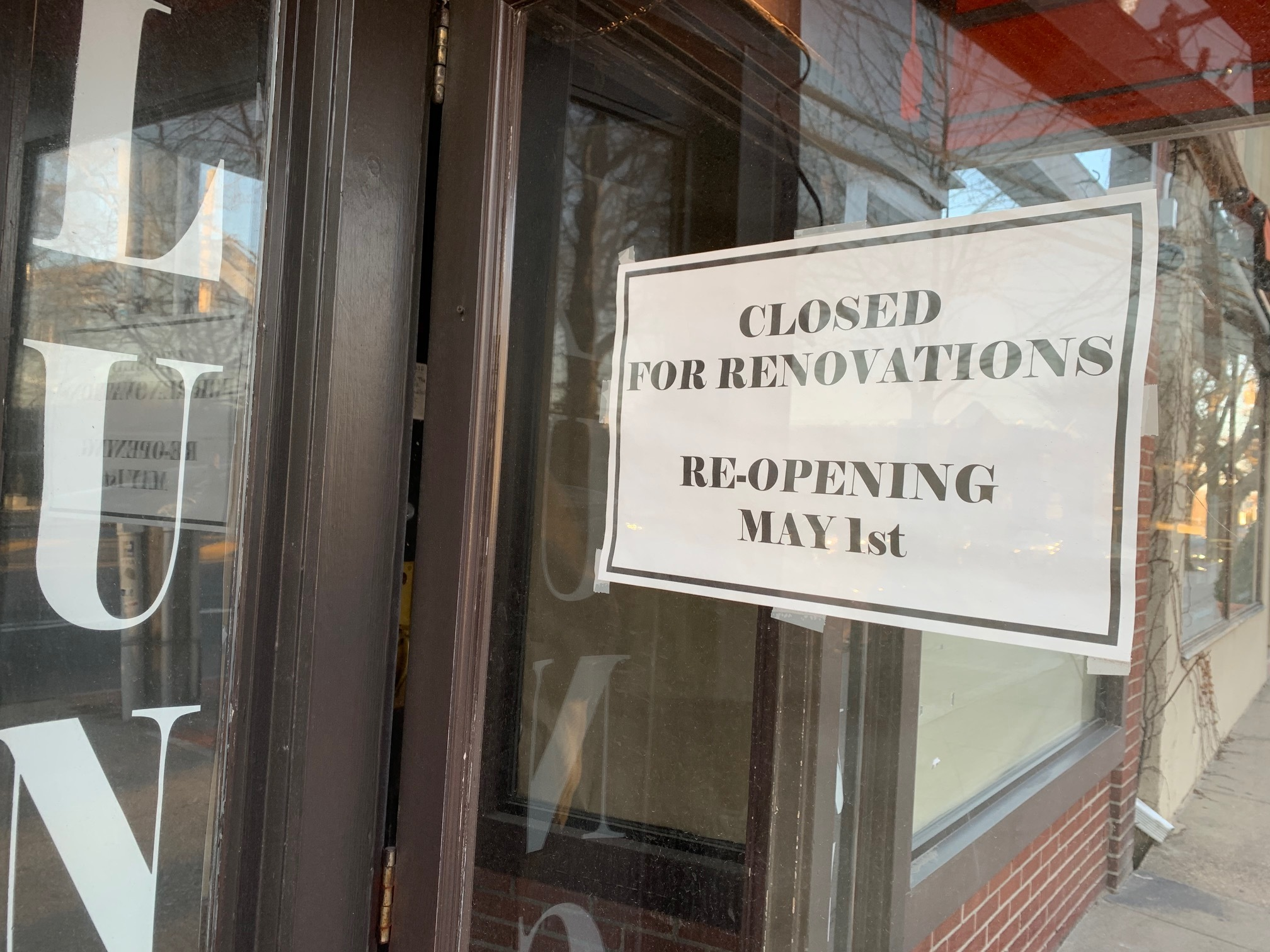 World Pie in Bridgehampton is closed for renovations.
