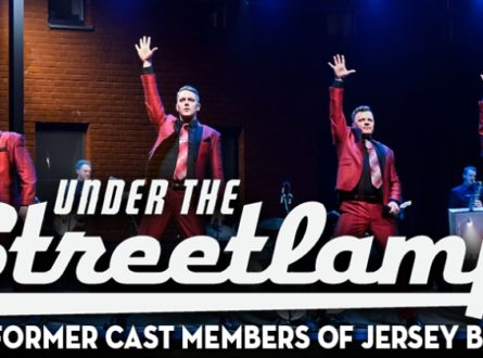 Under the Streetlamp, with Cast Members from The Jersey Boys & More!
