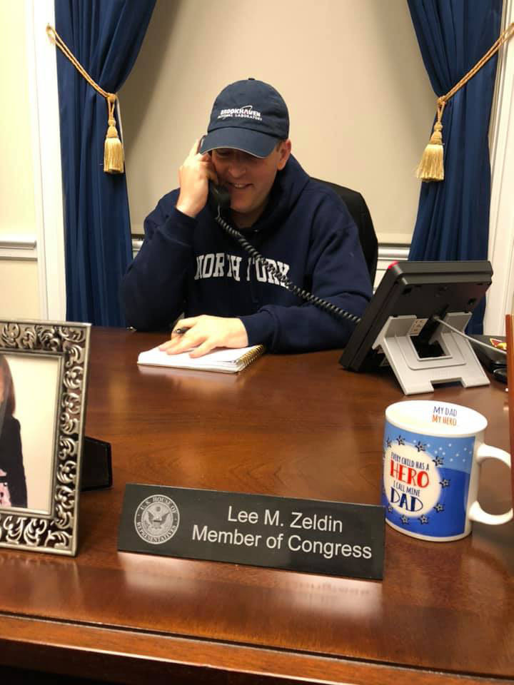 U.S. Representative Lee Zwldin hosted a teleconference on Sunday evening,