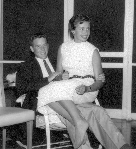 William and Elizabeth Pederson in 1959.