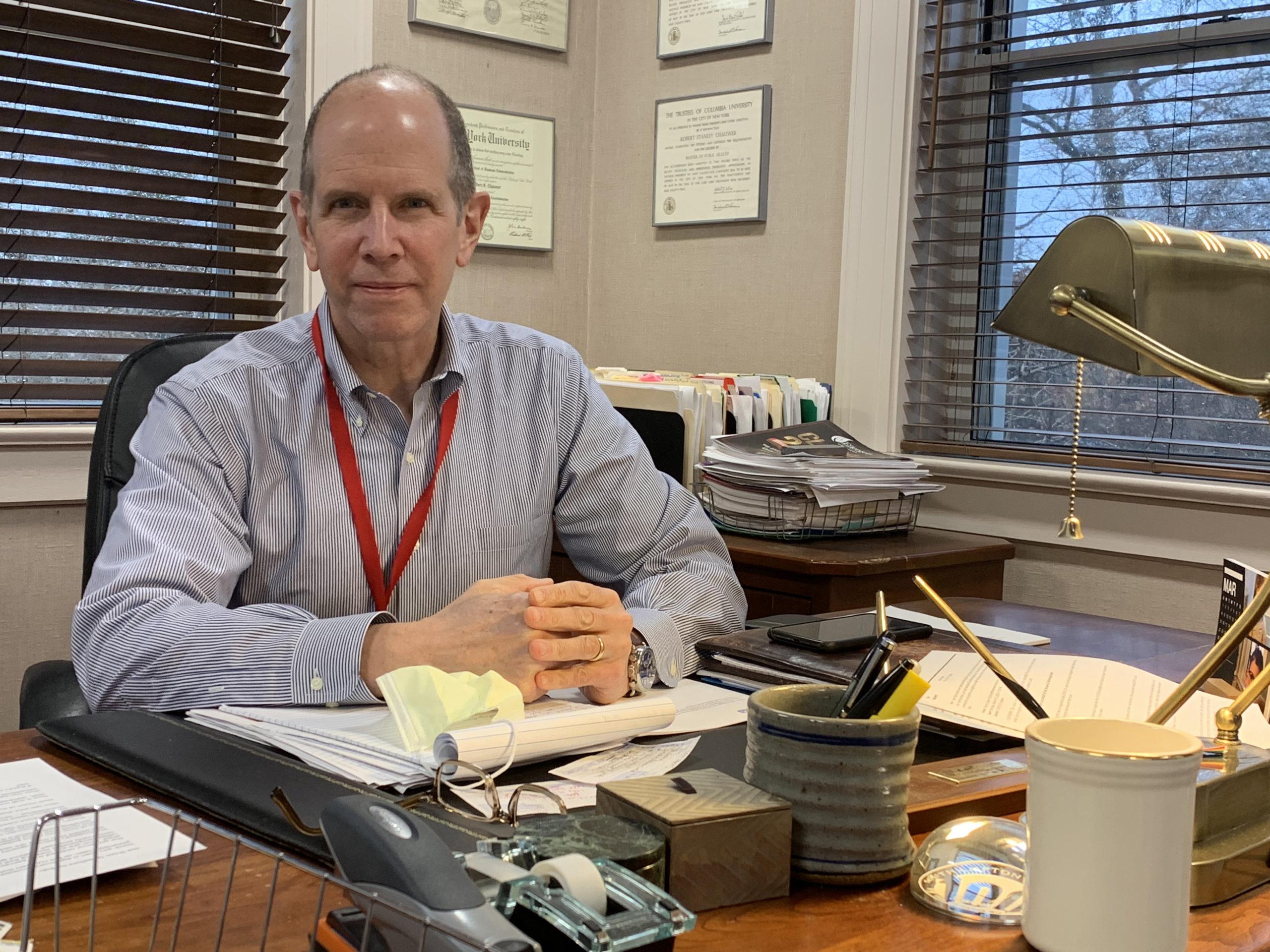 Robert Chaloner, chief administrative officer, Stony Brook Southampton Hospital.