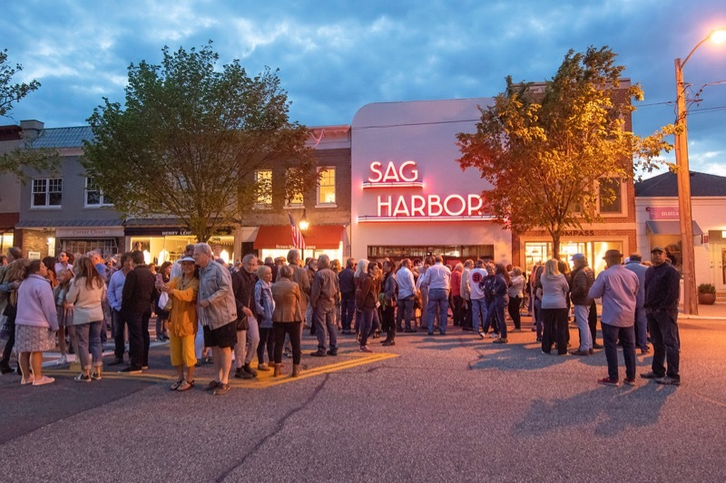 The Sag Harbor Cinema Arts Center has announced it will create a Community Relief Fund to aid with food insecurity and emergency relief on the East End. MICHAEL HELLER