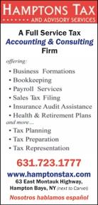 HAMPTONS TAX & ADVISORY SERVICES