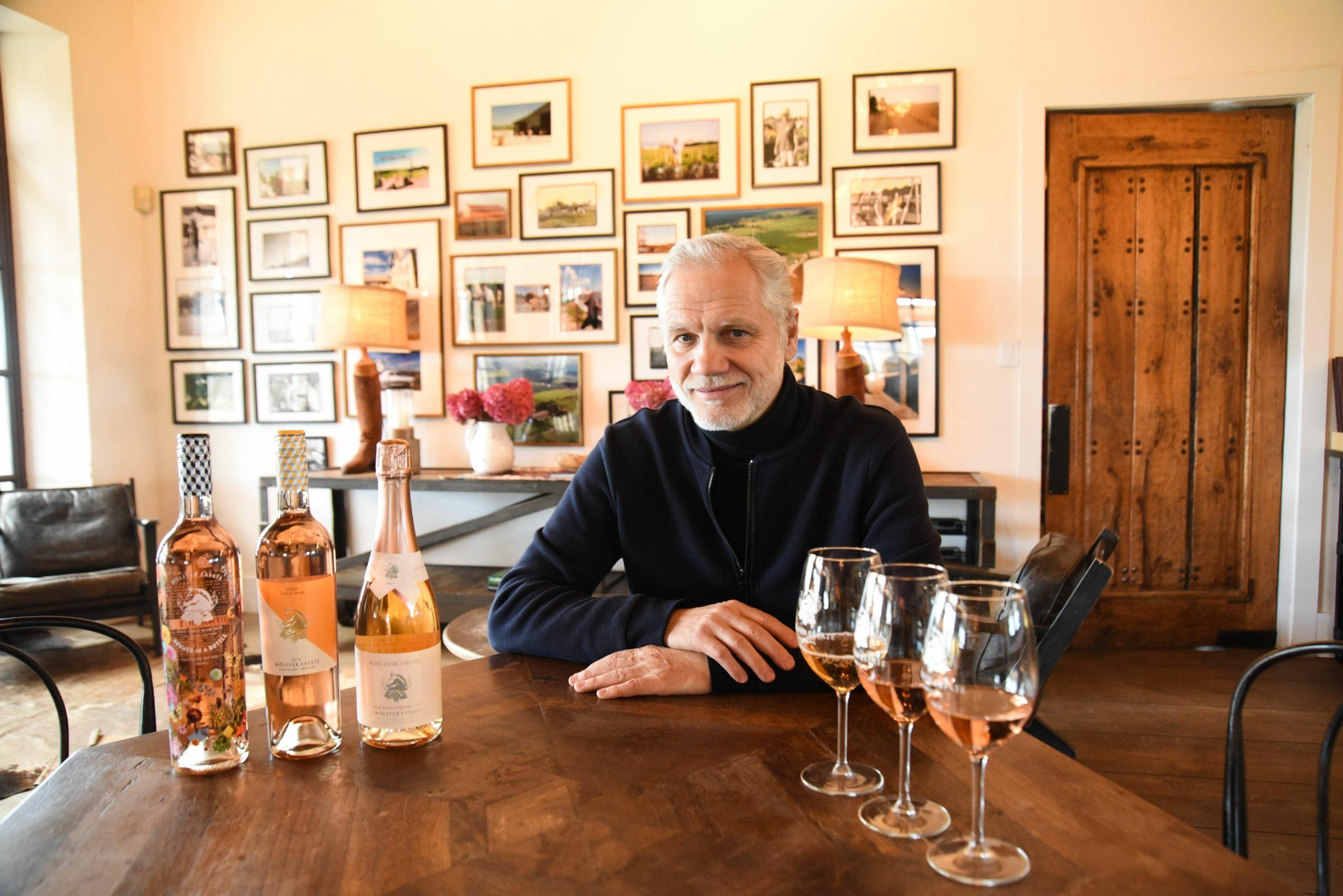 Roman Roth, Wolffer Estate Vineyard's winemaker.