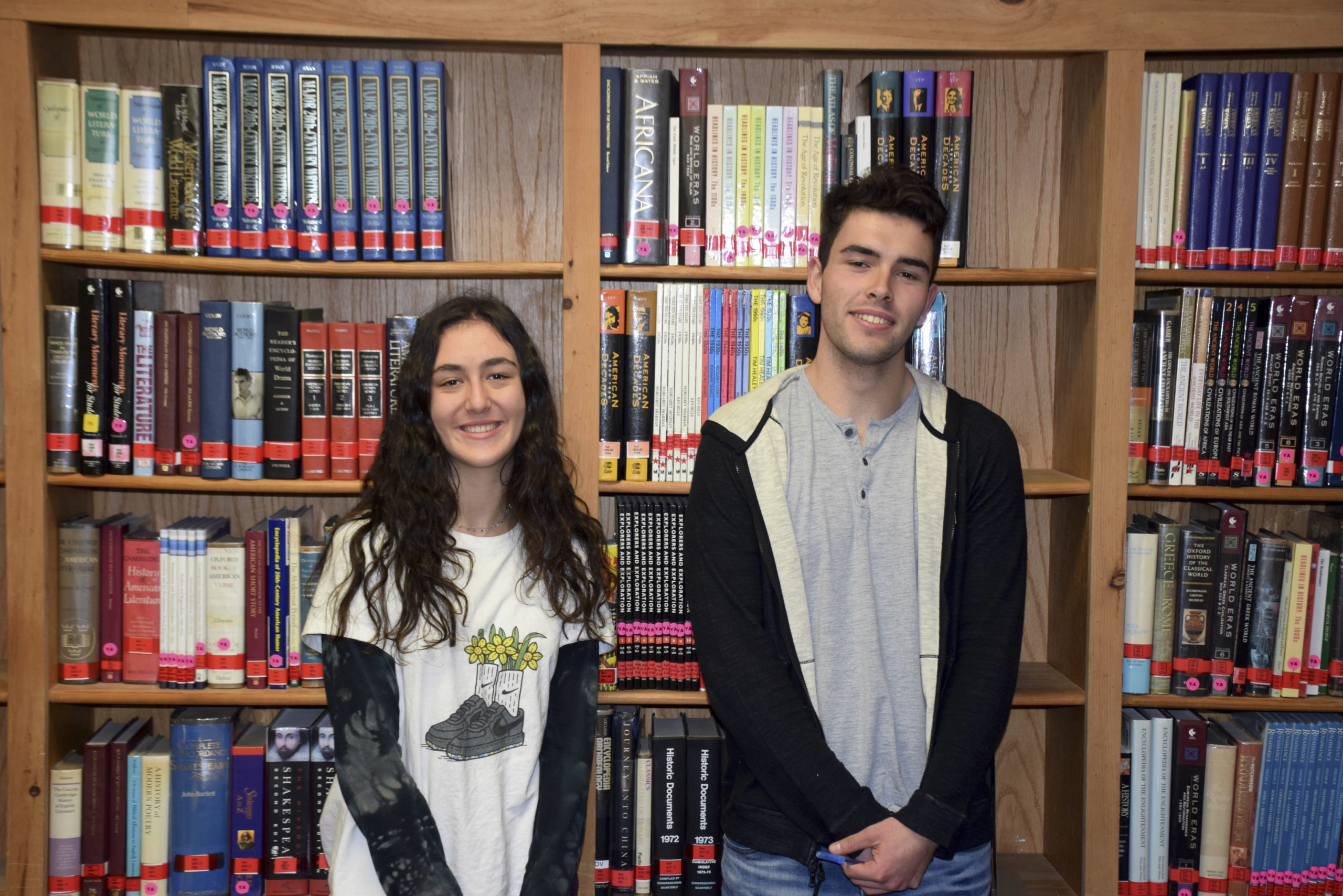 Pierson High School valedictorian Ruby Yassen and salutatorian Chase Allardice have been accepted to their top picks of colleges. Ruby will attend University of California, Los Angeles, and Chase will study at the prestigious Berklee College of Music in Boston.    COURTESY SAG HARBOR SCHOOL DISTRICT