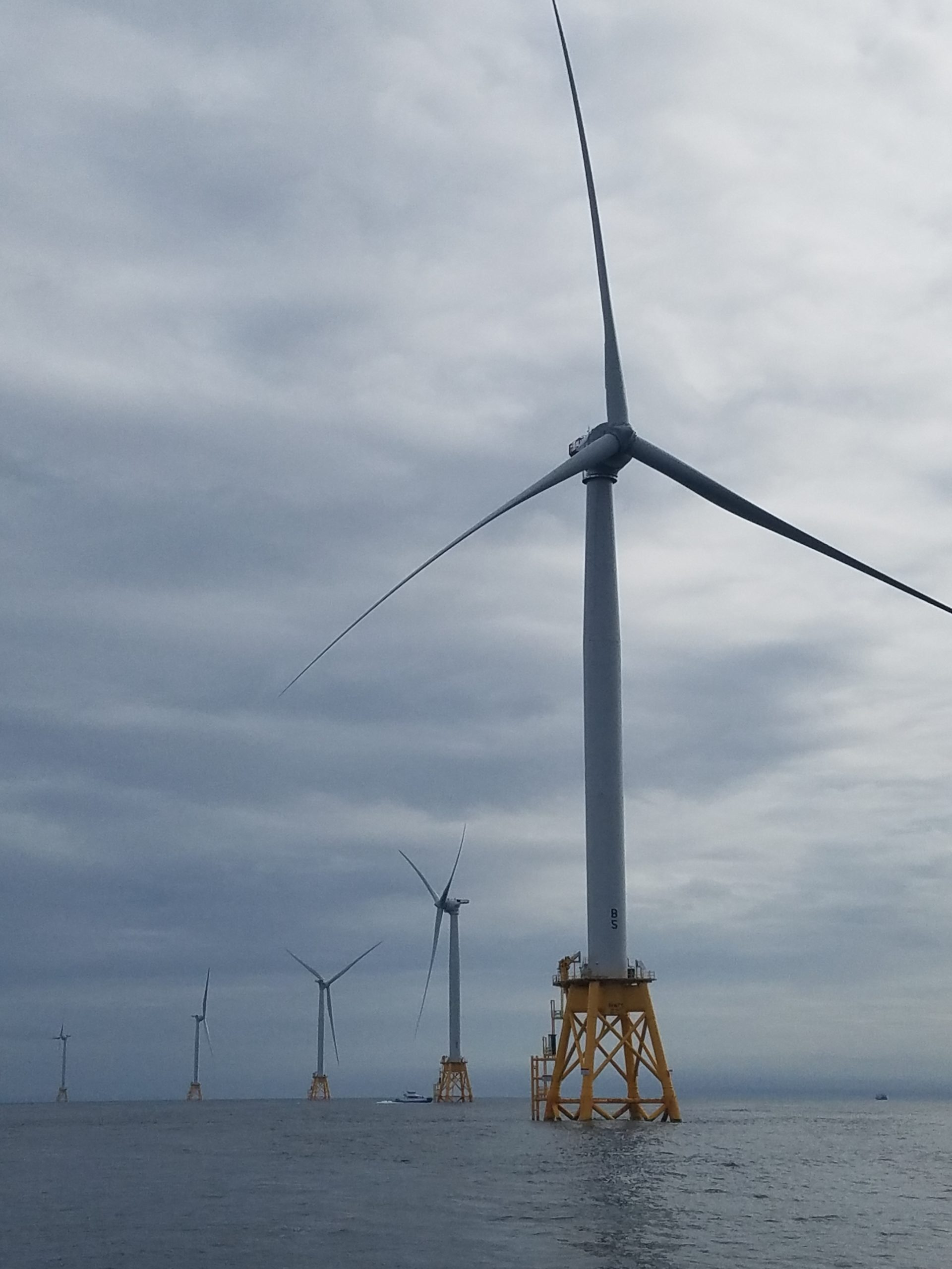 The five-turbine Block Island Wind Farm will remain the nation's only offshore wind farm for a while longer after Deepwater Wind said it is pushing back the expected time frame for its other applications for new wind farms off Martha's Vineyard because of the coronavirus epidemic.