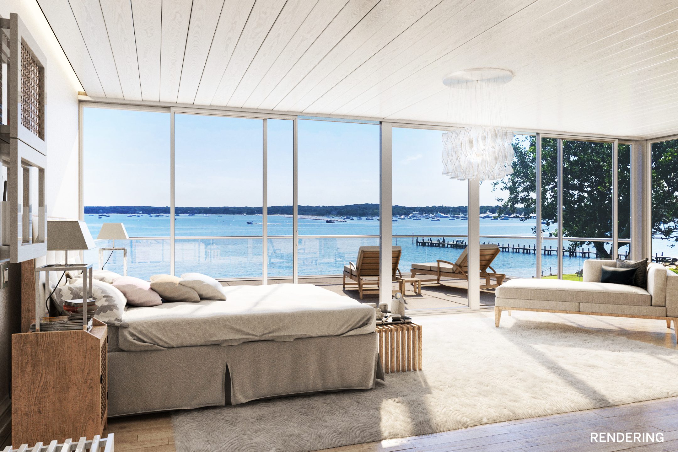 Renderings of a potentional new build at 24 East Harbor Drive.