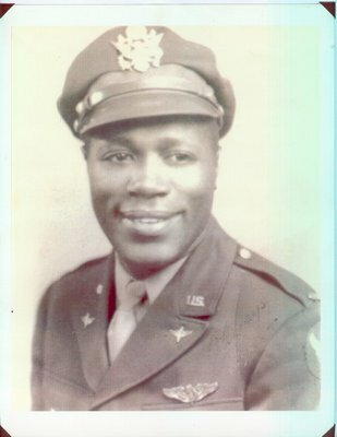 Lt. Lee A. Hayes, an East Hampton resident and World War II Tuskegee Airmen who died in 2013.