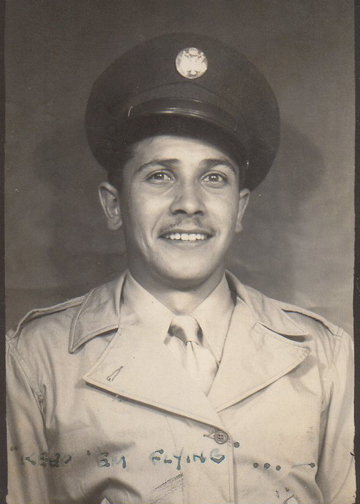 Leo Brown, who was killed in action on November 12, 1944.