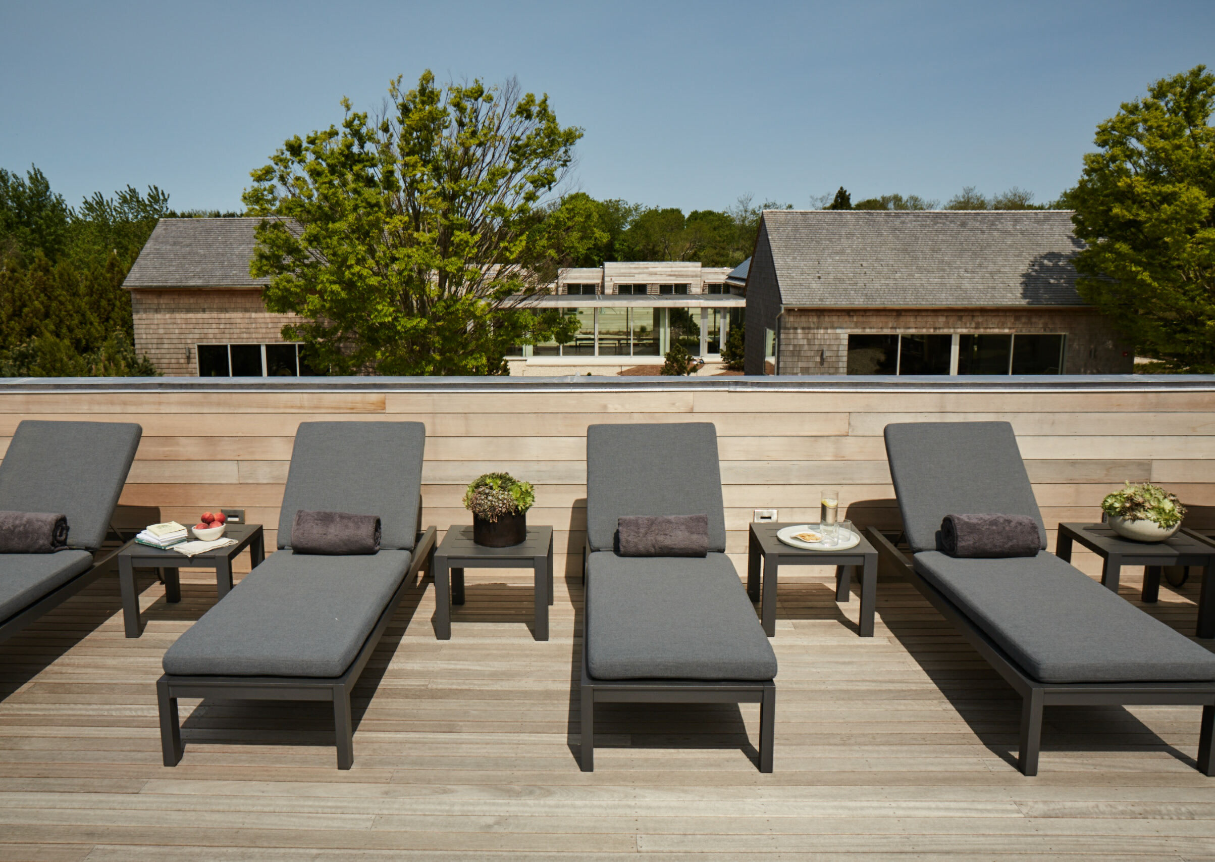 The Shou Sugi Ban House, a luxury spa and retreat in Water Mill, is being offered as a full-season rental in lieu of its normal business this summer.