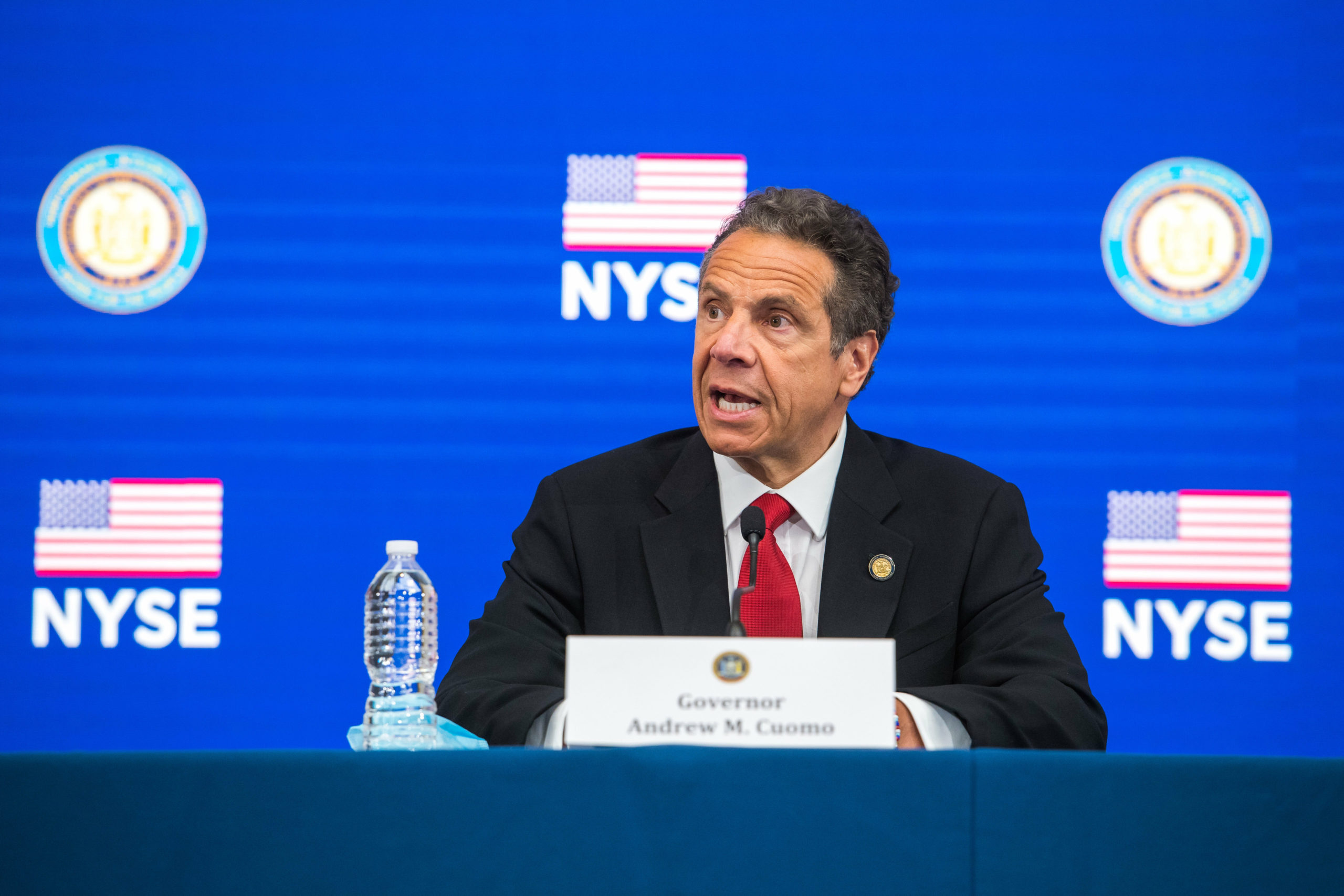 Offering his daily update from the New York Stock Exchange on Tuesday, Governor Andrew Cuomo said Long Island could begin reopening on Wednesday.