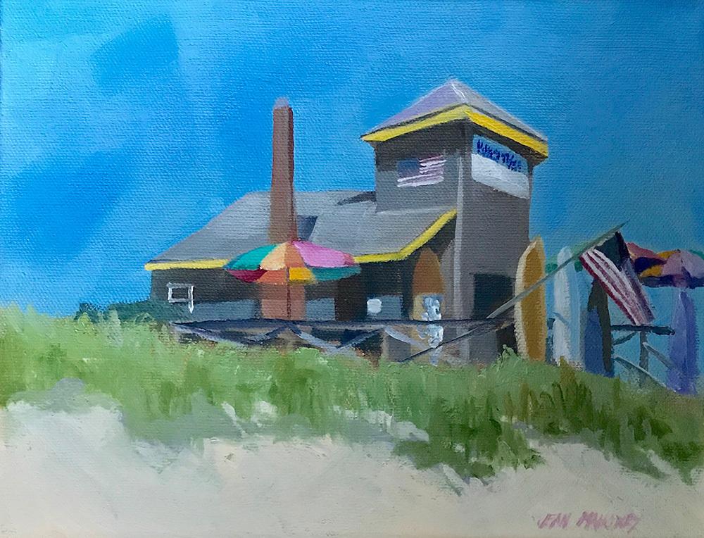 Jean Mahoney's painting